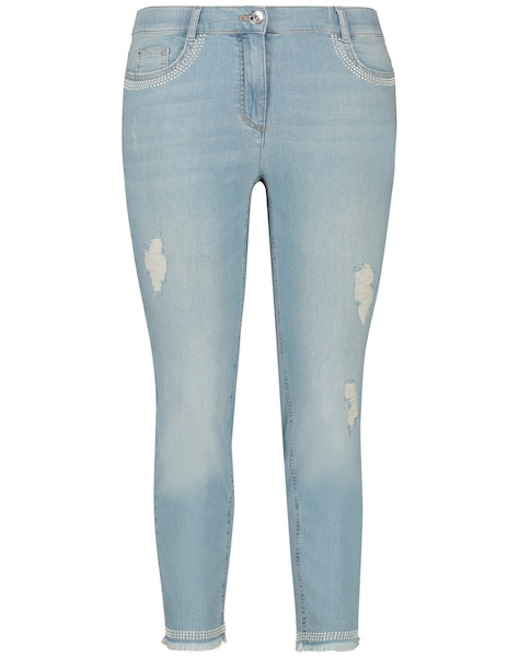 Hosen - Jeans › SAMOON › hellblau  - Onlineshop ABOUT YOU