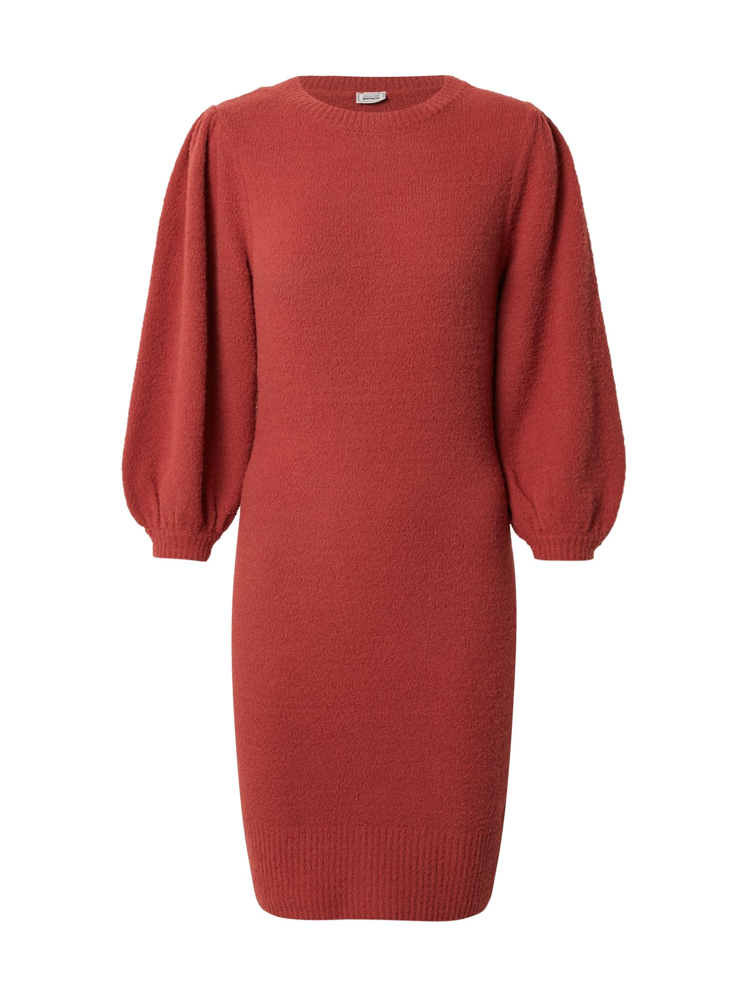 Pimkie Úpletové šaty  červená