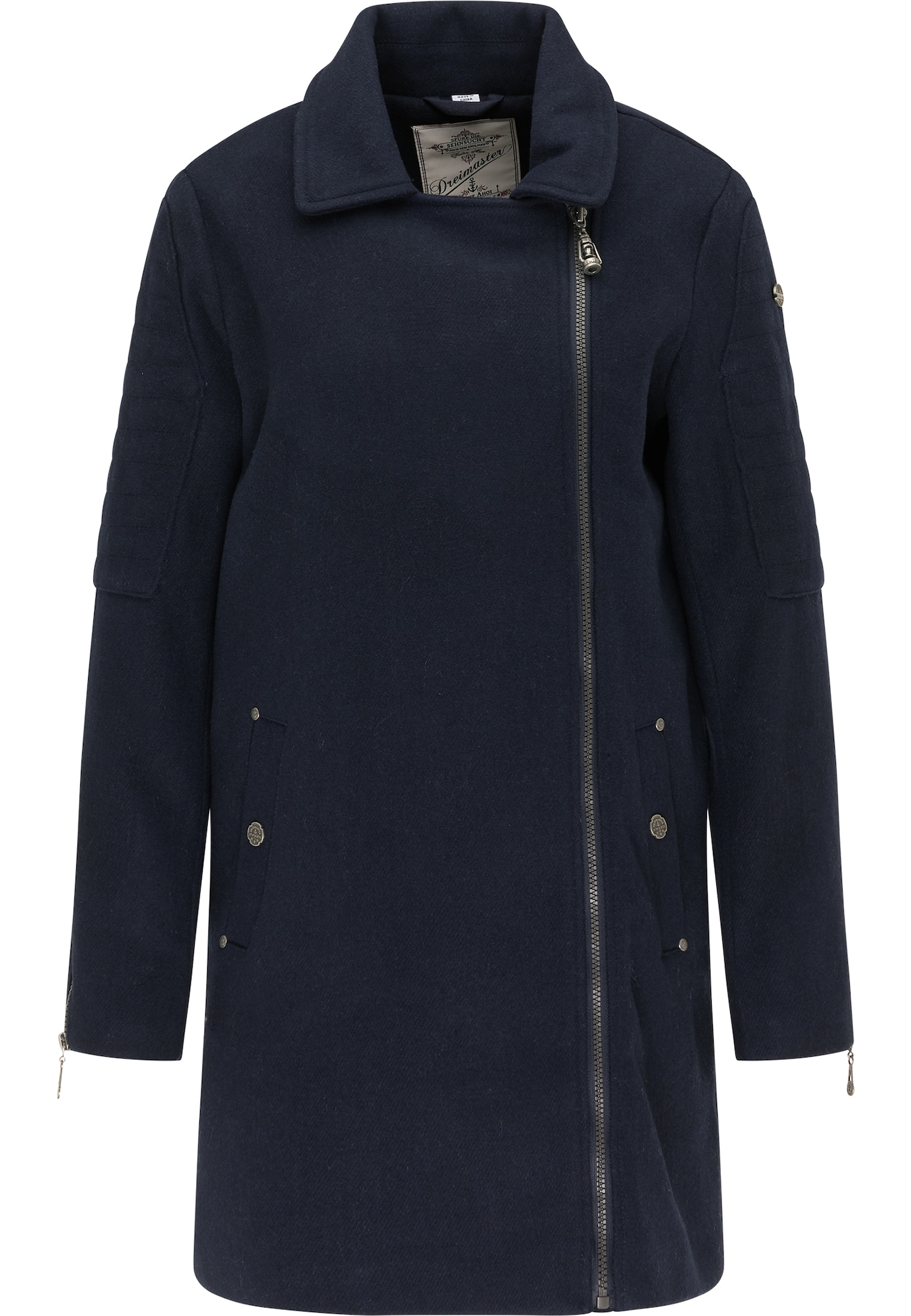 DreiMaster Vintage Demisezoninis paltas nakties mėlyna