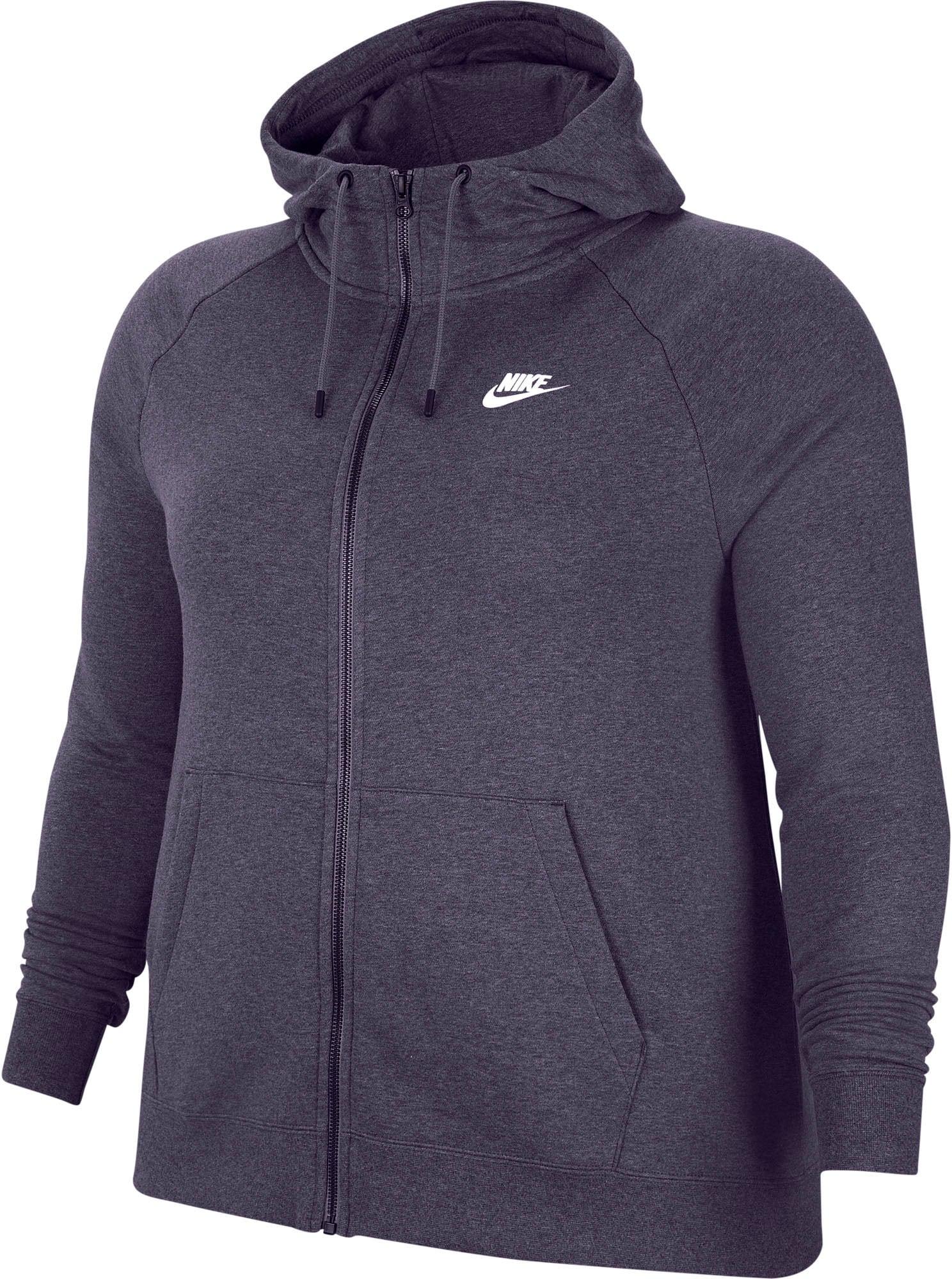 Nike Sportswear Džemperis balta / tamsiai violetinė