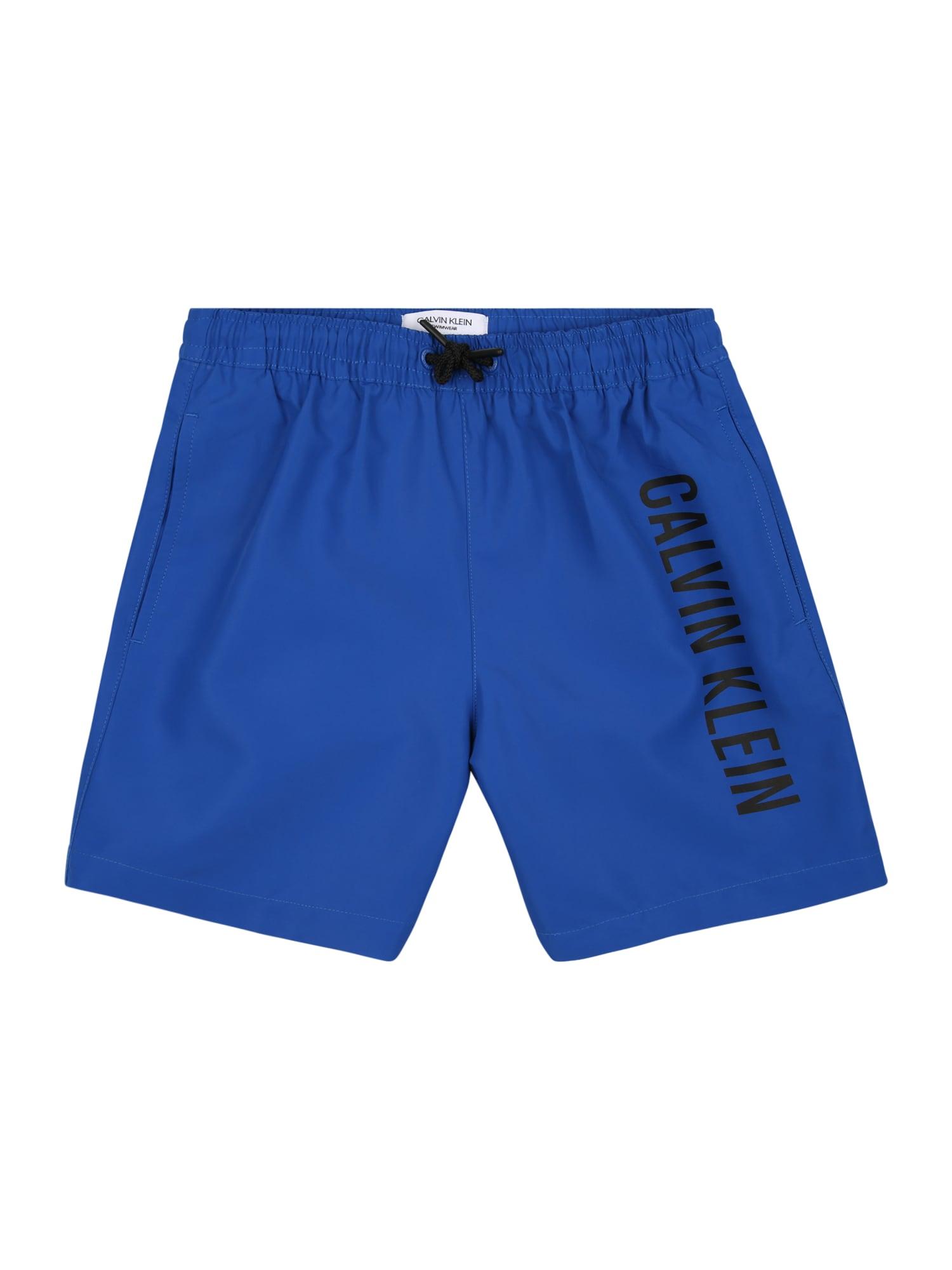 Calvin Klein Swimwear Maudymosi trumpikės dangaus žydra / juoda