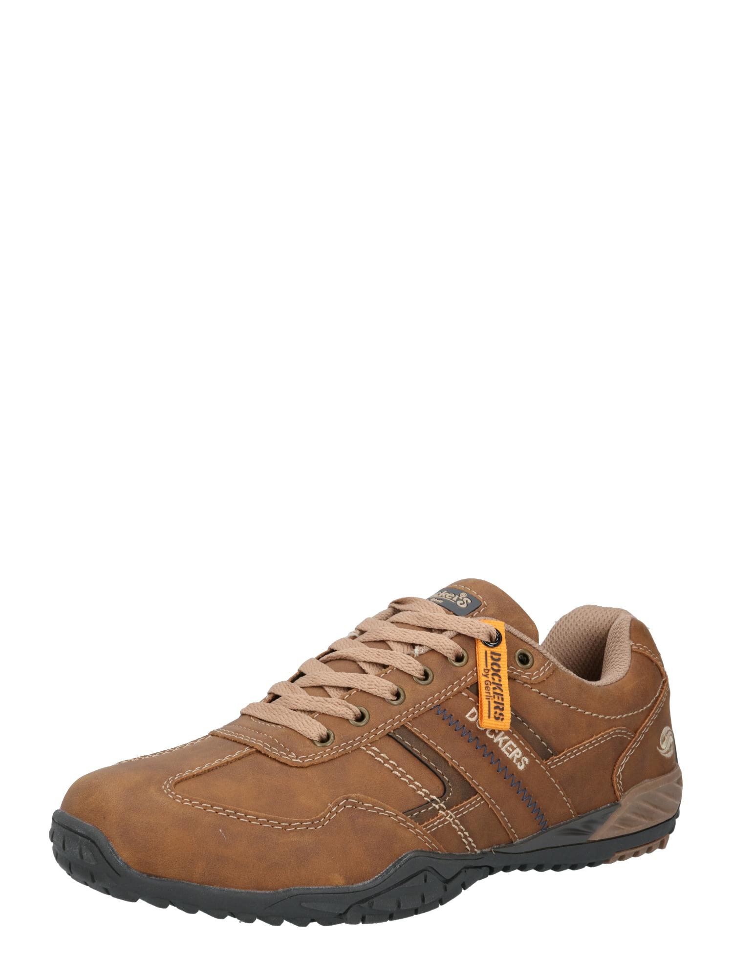 Dockers by Gerli Sportinio stiliaus batai su raišteliais ruda (konjako)