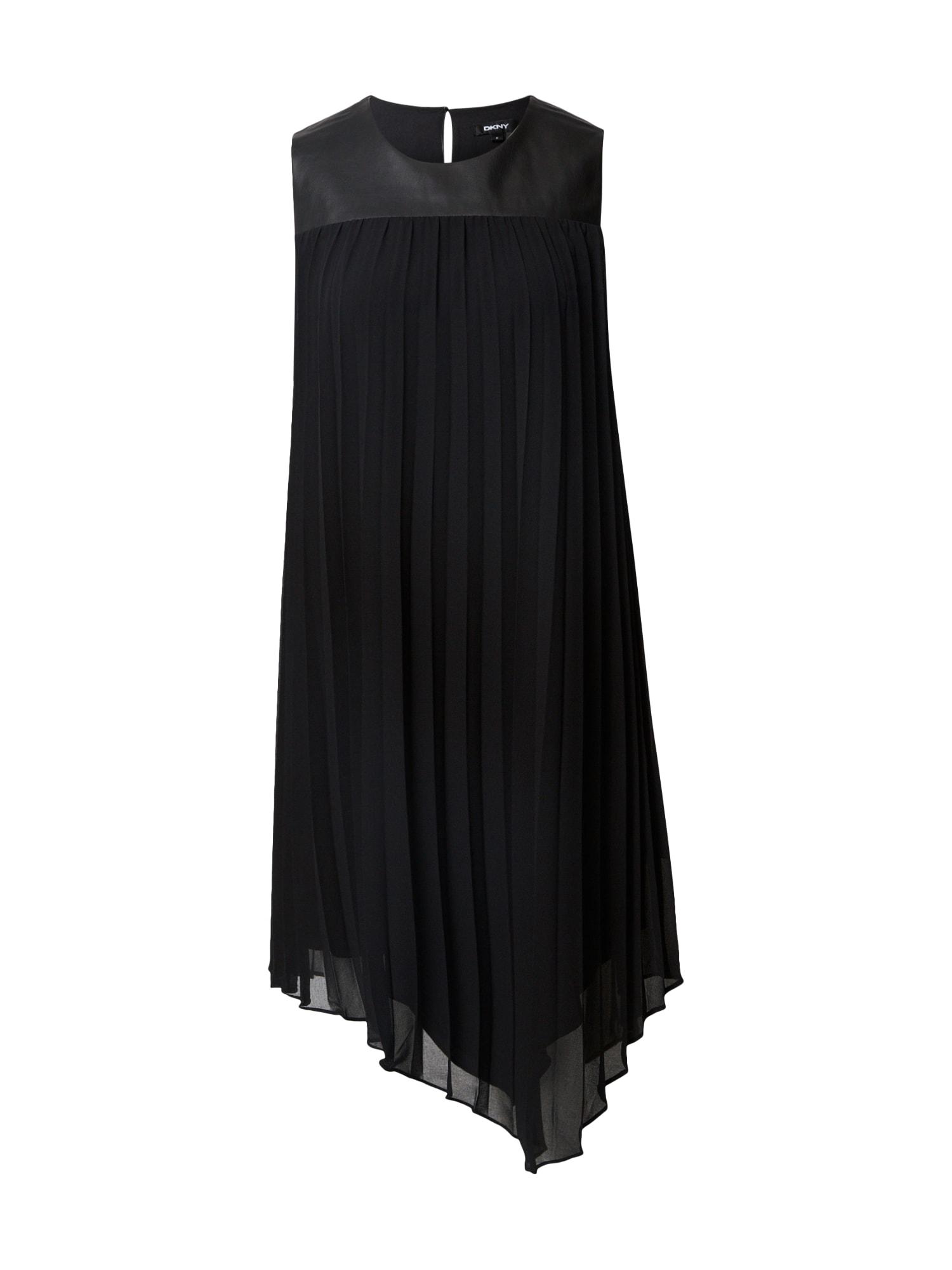 DKNY Kokteilinė suknelė juoda