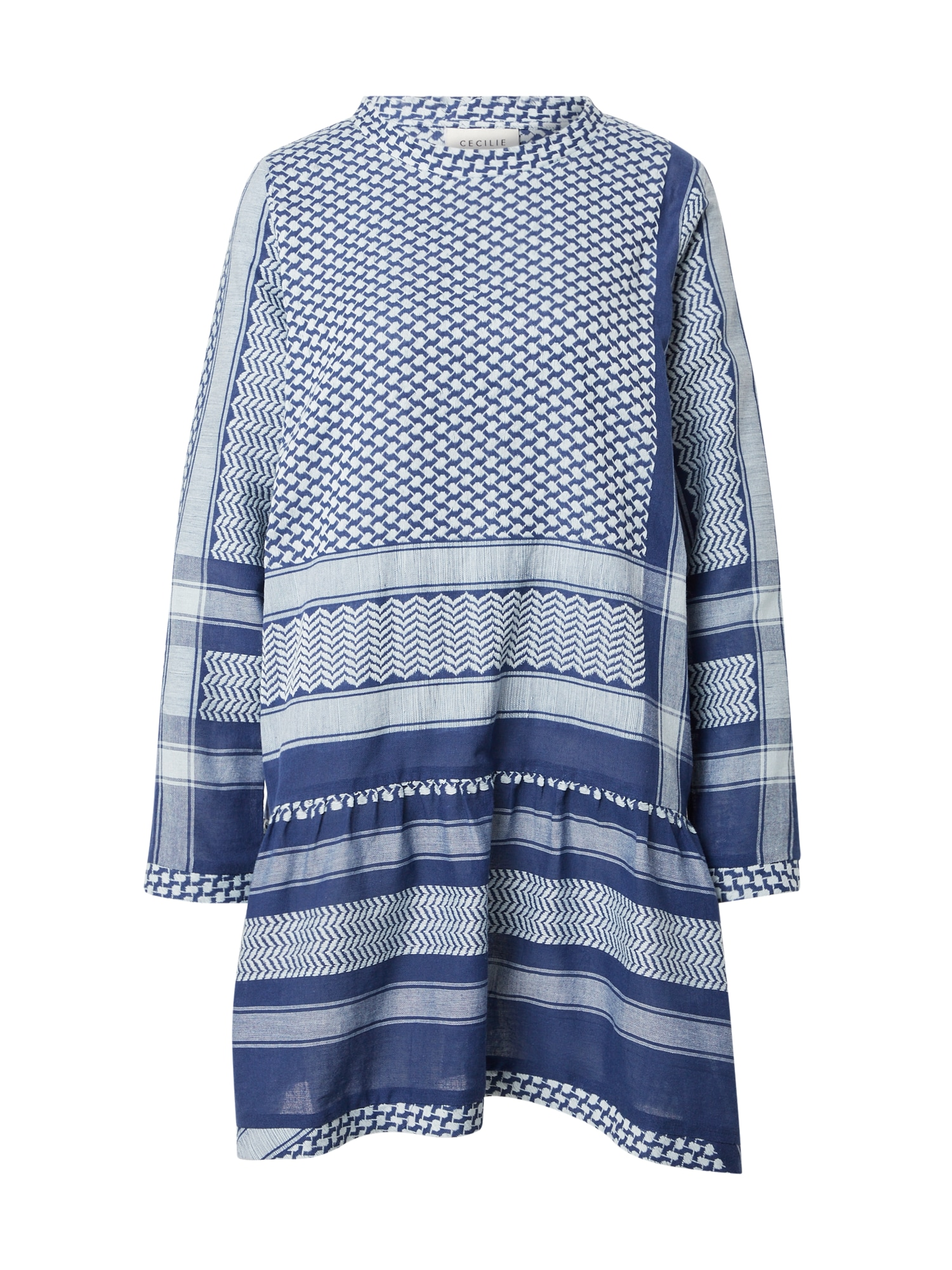 Cecilie Copenhagen Suknelė mėlyna / balta
