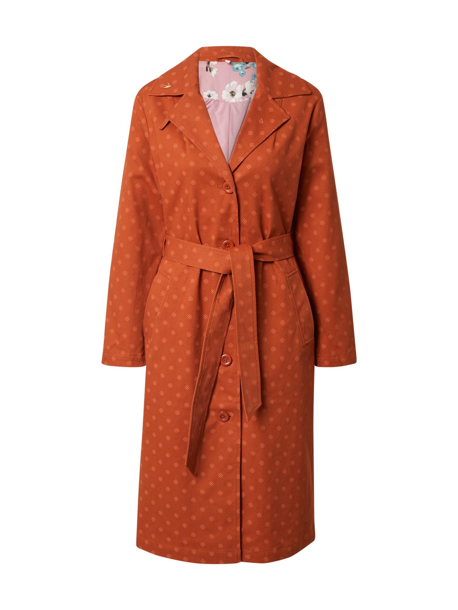 Blutsgeschwister Demisezoninis paltas abrikosų spalva