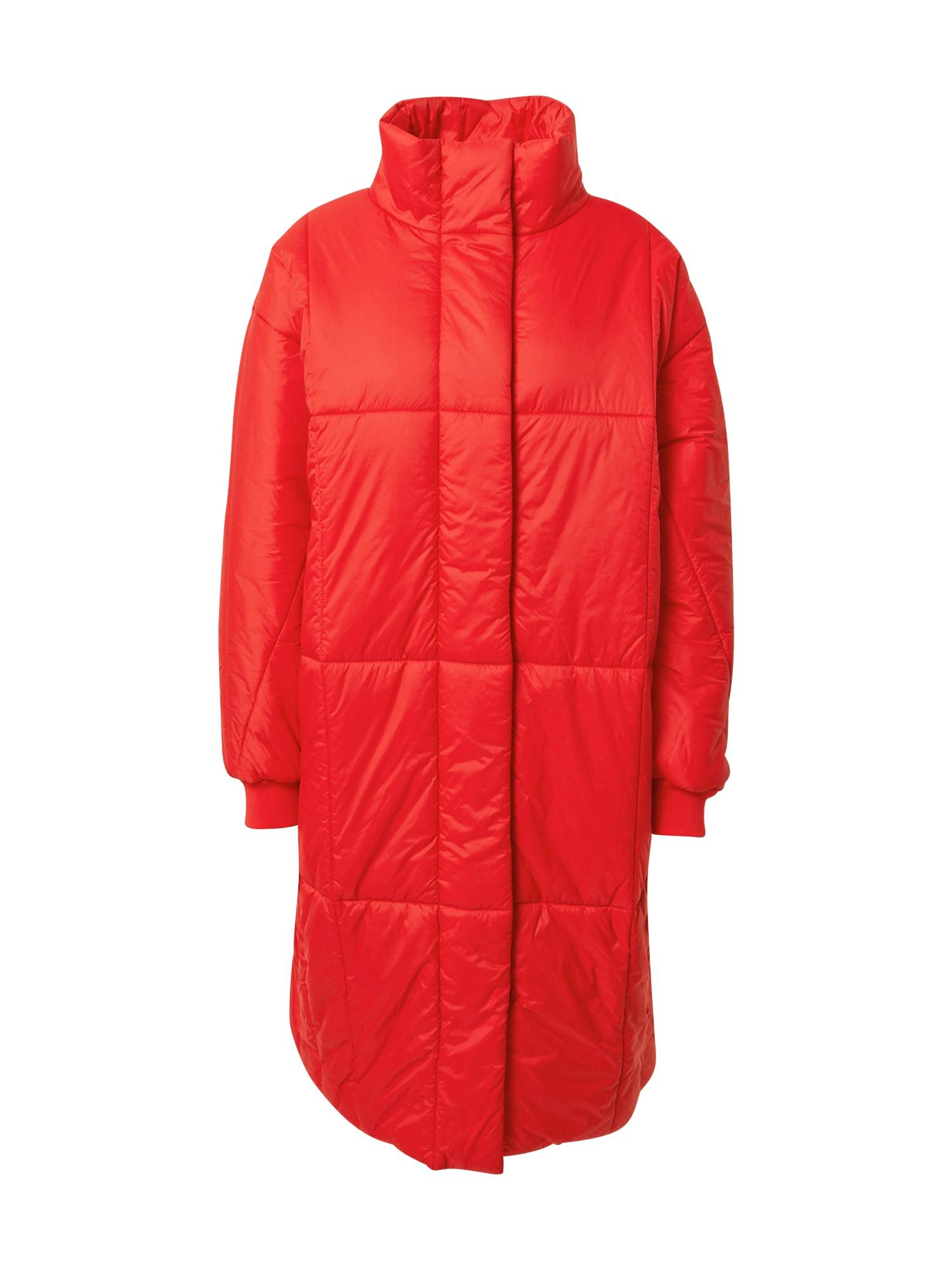 EDC BY ESPRIT Zimní kabát  červená