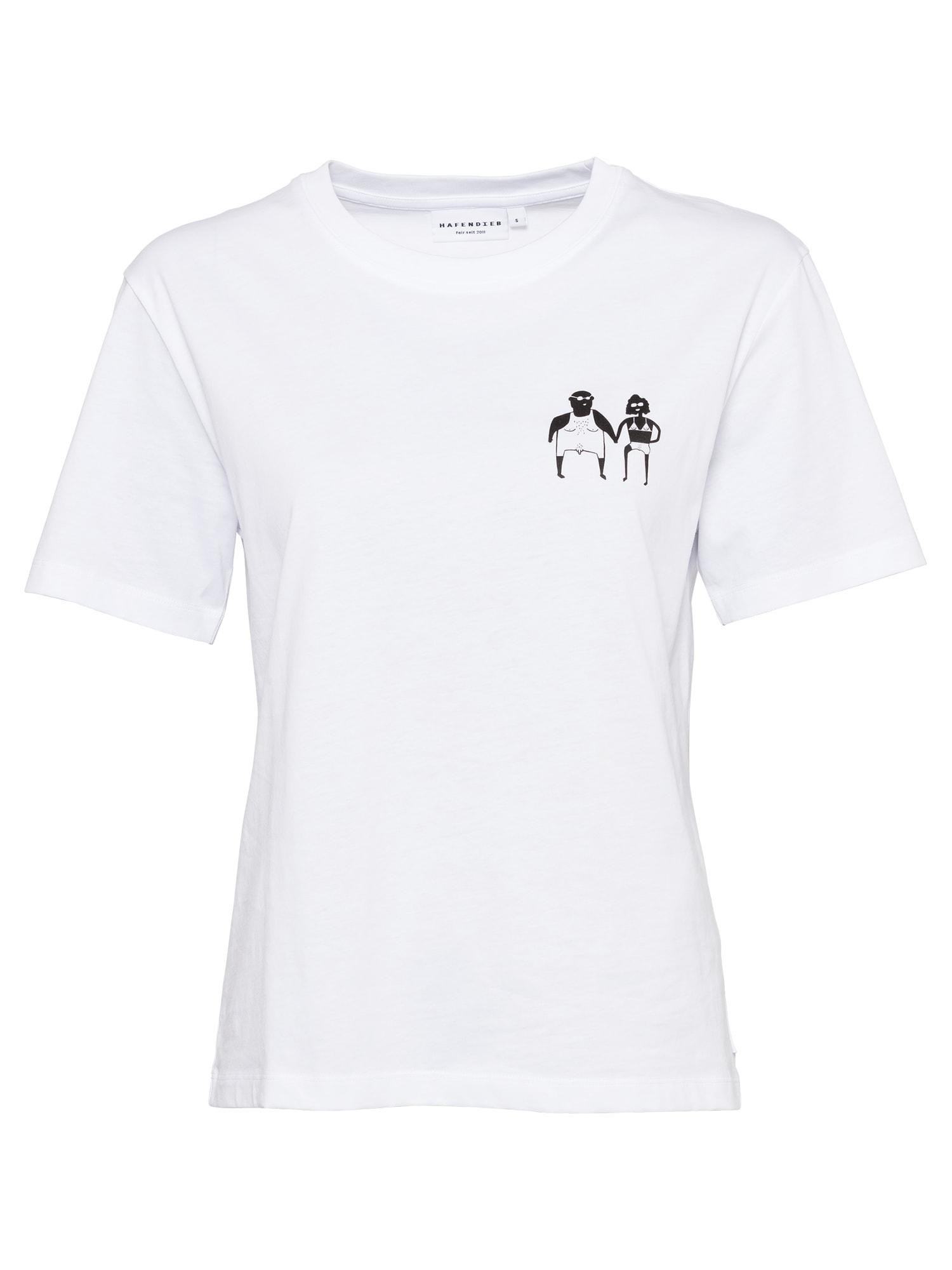 Hafendieb Marškinėliai balkšva / juoda