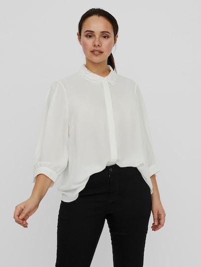 Vero Moda Curve Dorthe Hemd mit Kragen, Knopfleiste und 3/4-Ärmeln