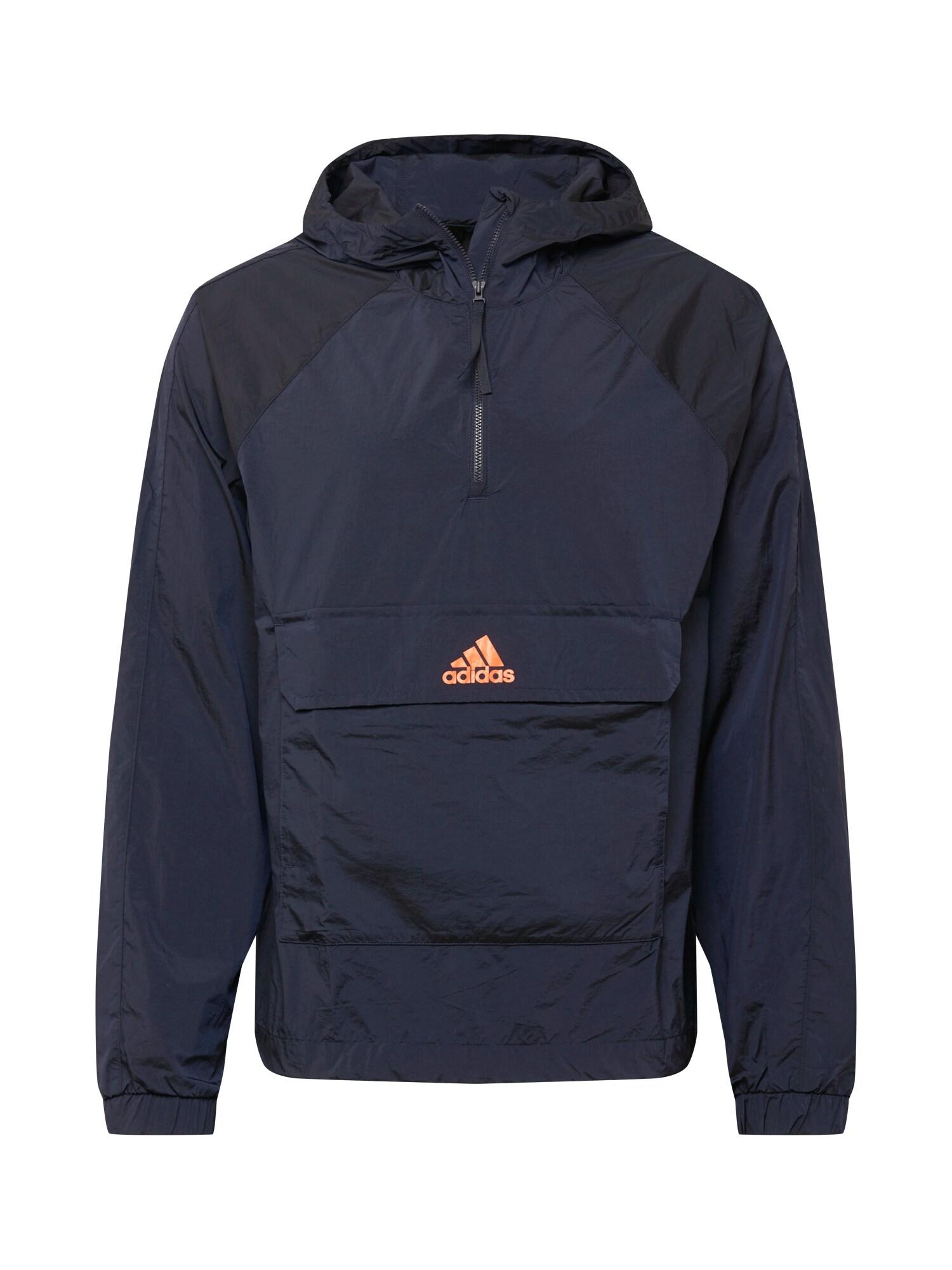 ADIDAS PERFORMANCE Sportovní bunda  oranžová / marine modrá