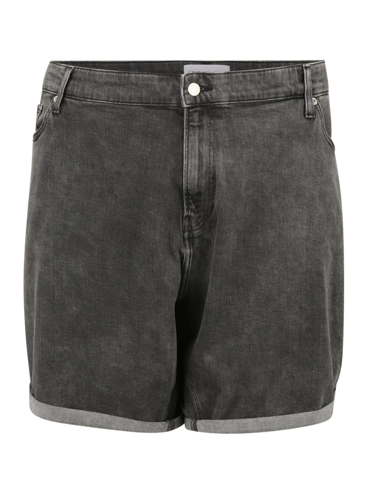 Calvin Klein Jeans Plus Džinsai juodo džinso spalva