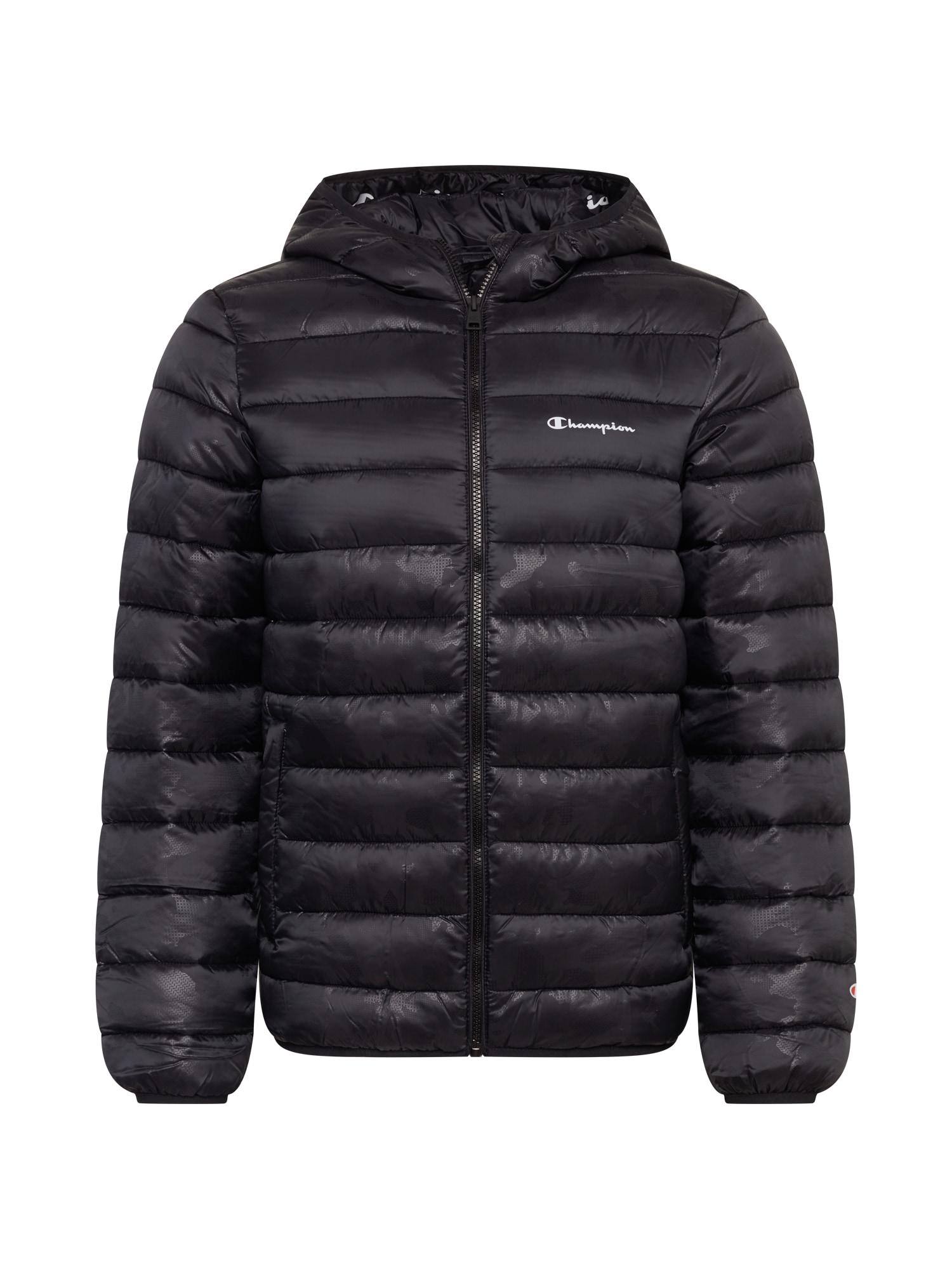 Champion Authentic Athletic Apparel Žieminė striukė juoda