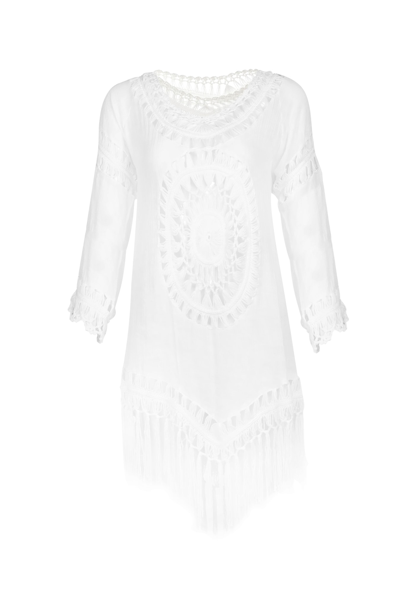 IZIA Paplūdimio suknelė balta