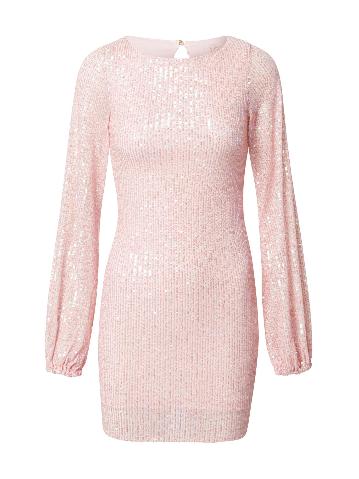 CLUB L LONDON Kokteilinė suknelė rožinė