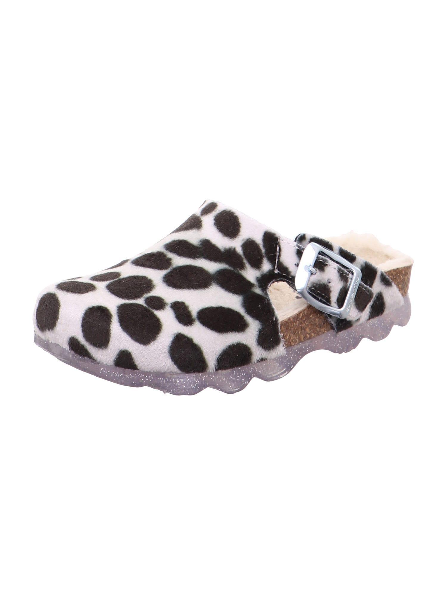 SUPERFIT Sandály  černá / bílá