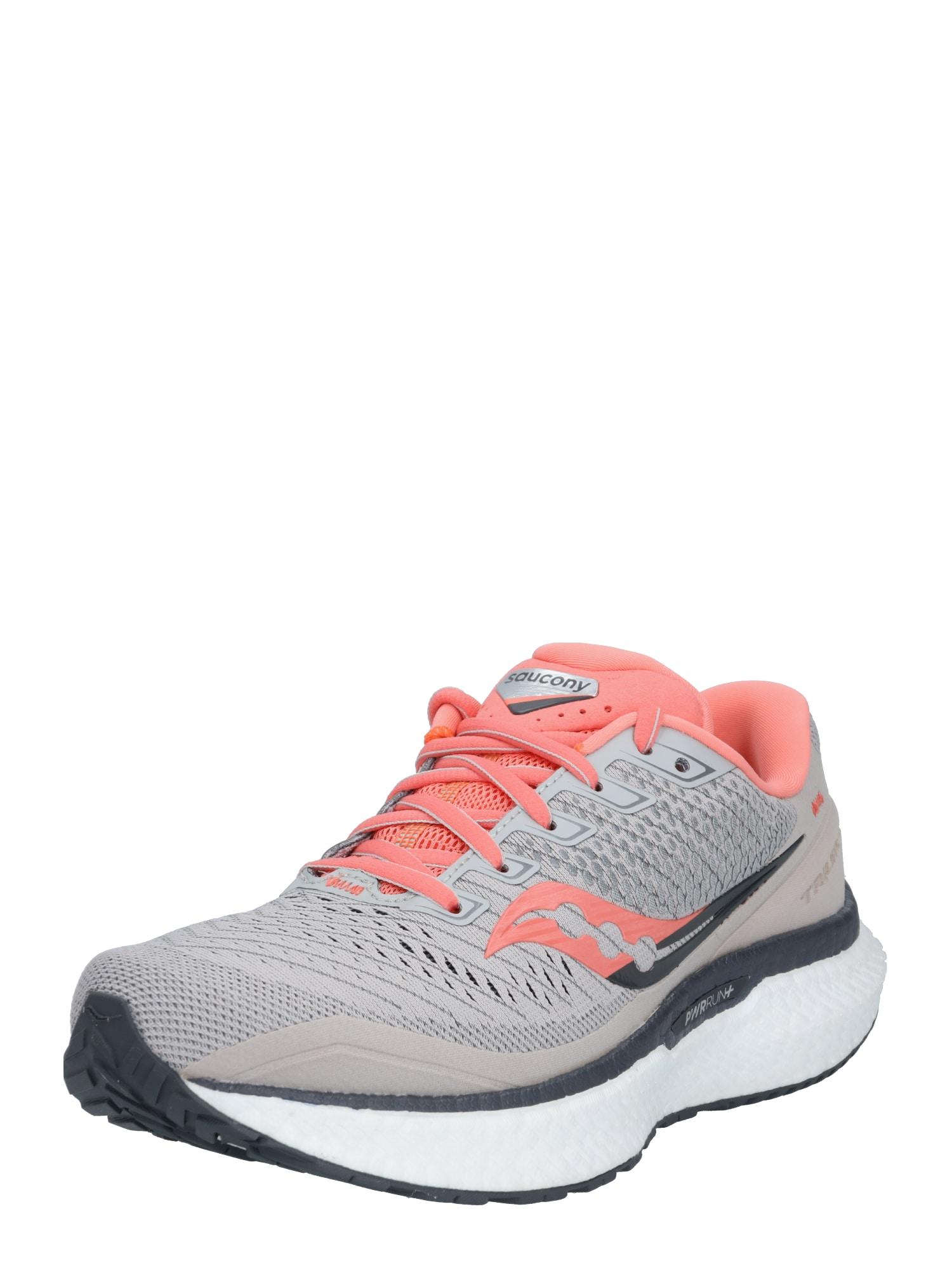 saucony Sportovní boty 'Triumph 18'  šedá / růžová