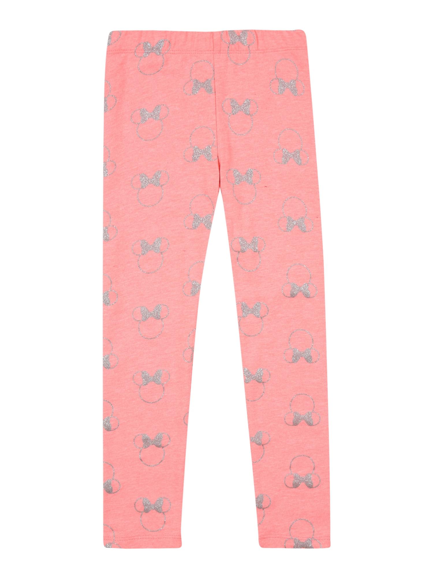 GAP Kelnės ryškiai rožinė spalva / sidabrinė