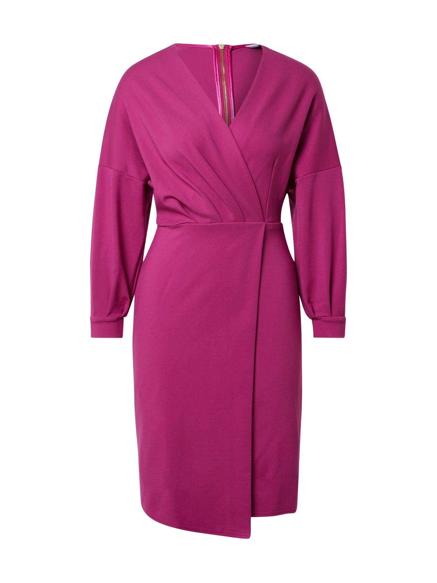 Closet London Suknelė ciklameno spalva