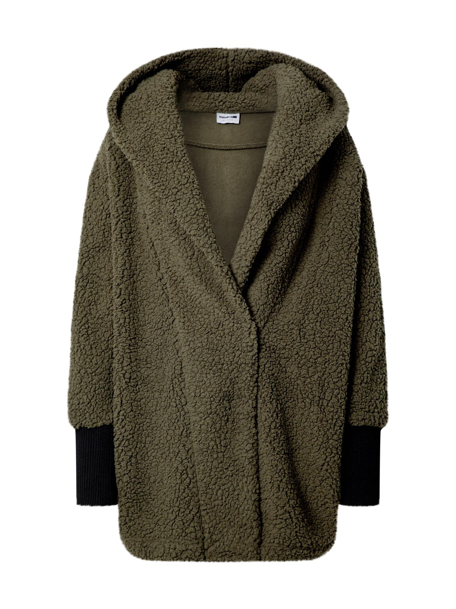 Noisy may Demisezoninis paltas alyvuogių spalva
