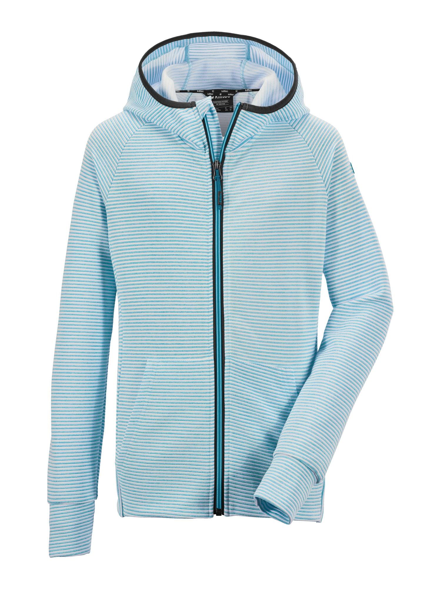 KILLTEC Sportinis džemperis 'Rodeny' turkio spalva / balta
