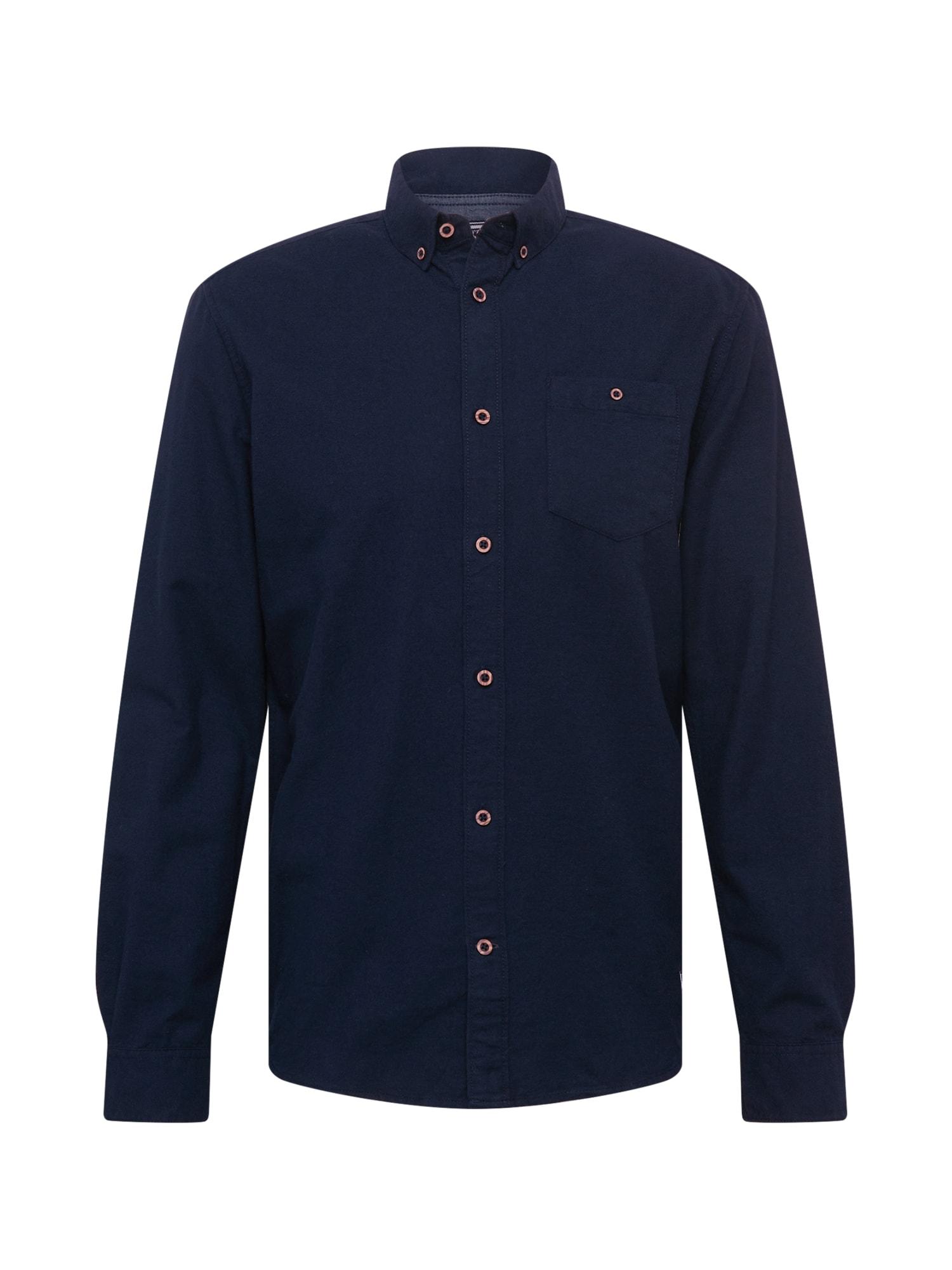TOM TAILOR Košile  noční modrá