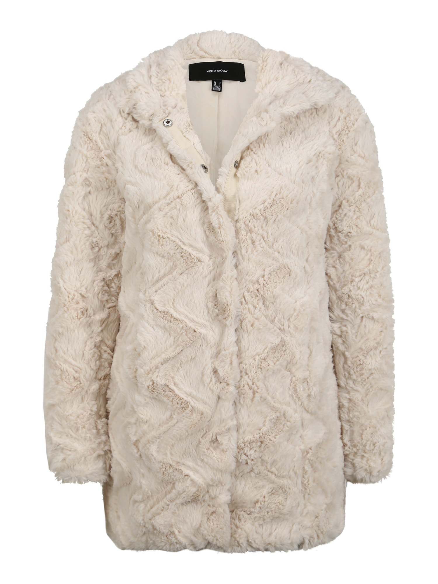 Vero Moda Petite Žieminis paltas gelsvai pilka spalva