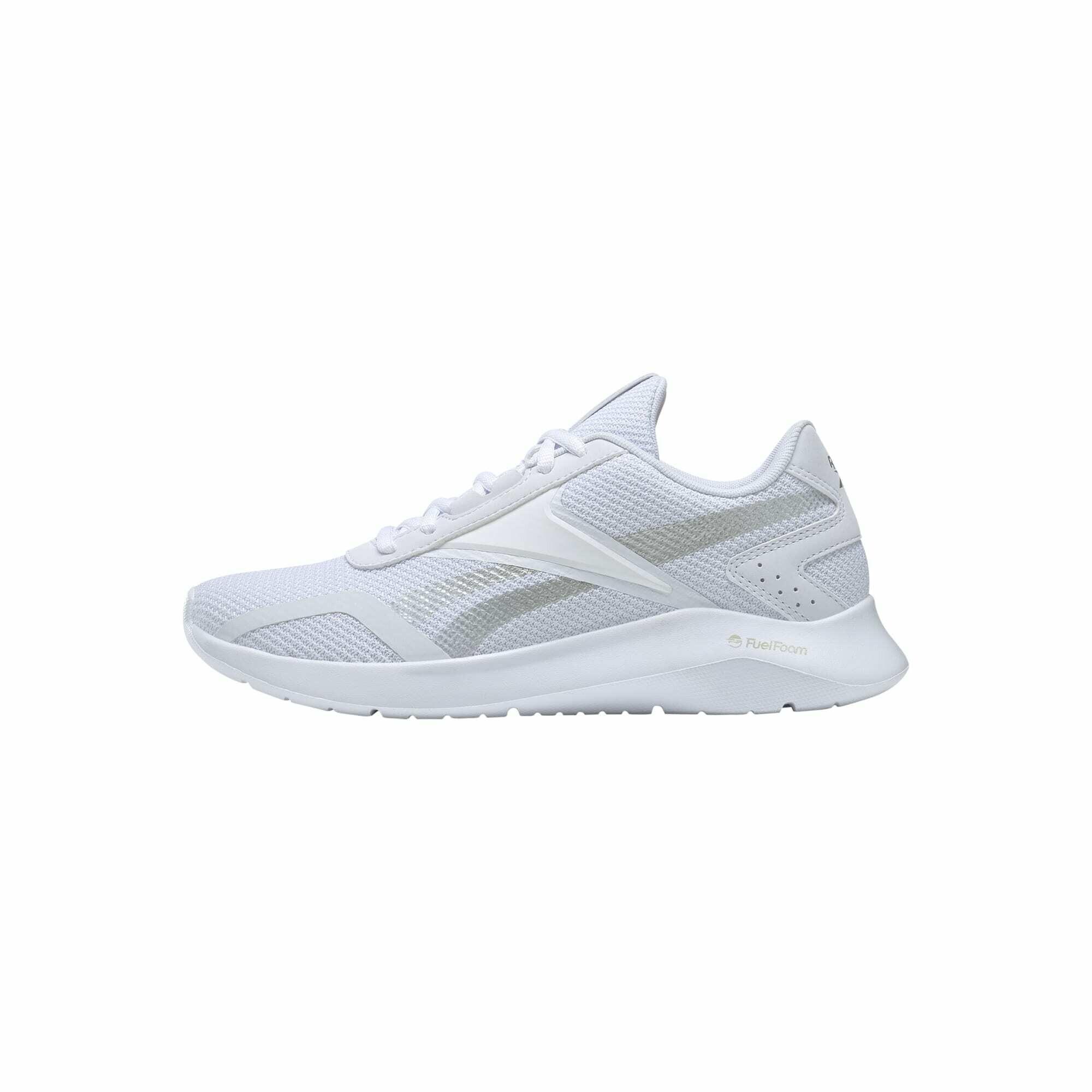 REEBOK Bėgimo batai balta / pilka