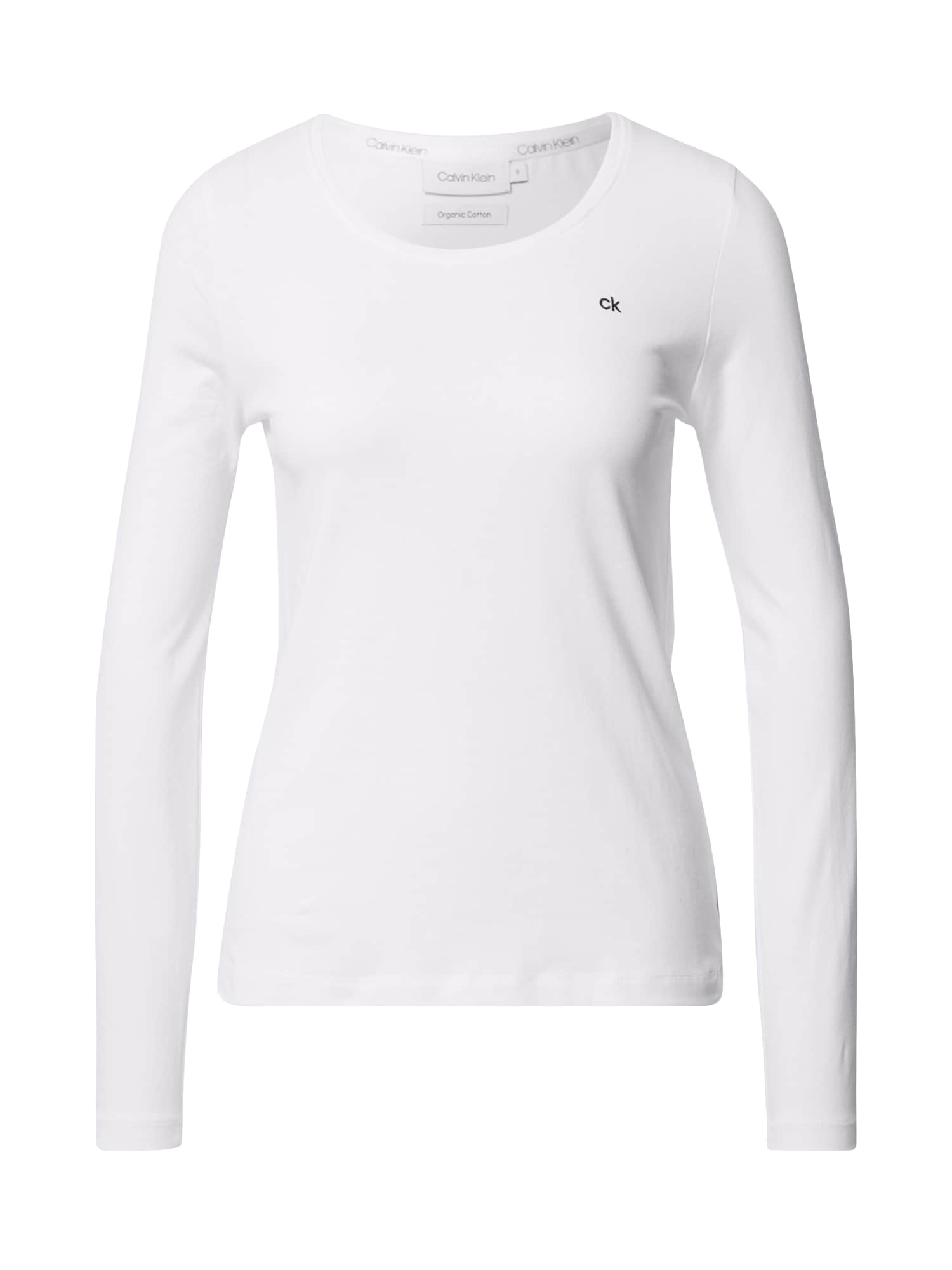 Calvin Klein Tričko 'SCOOP'  bílá
