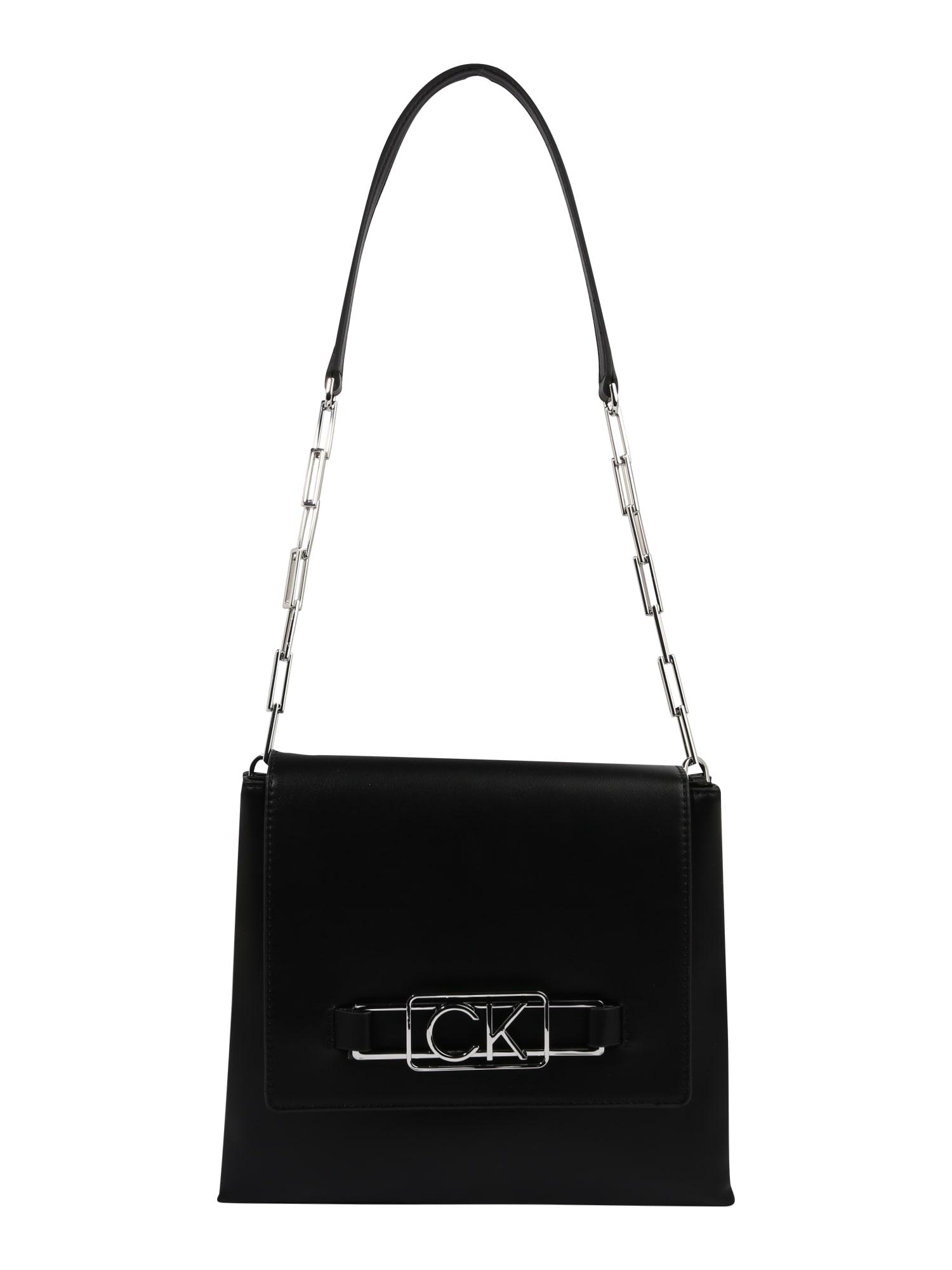 Calvin Klein Rankinė ant peties juoda