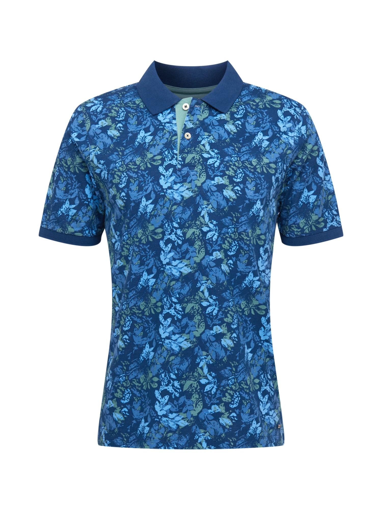 """FYNCH-HATTON Marškinėliai sodri mėlyna (""""karališka"""") / mėlyna dūmų spalva / šviesiai mėlyna / pastelinė mėlyna"""