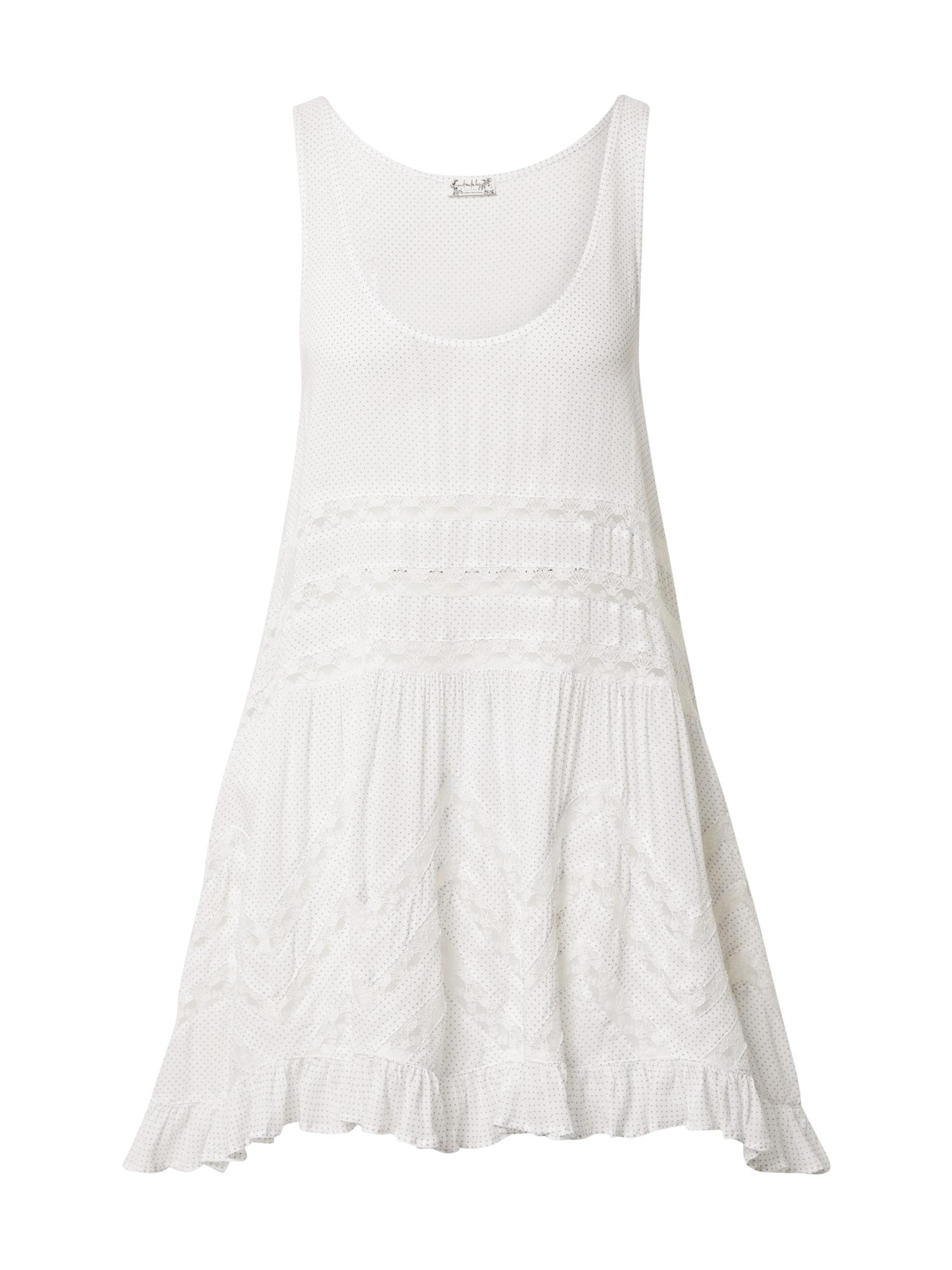 Free People Vasarinė suknelė balta