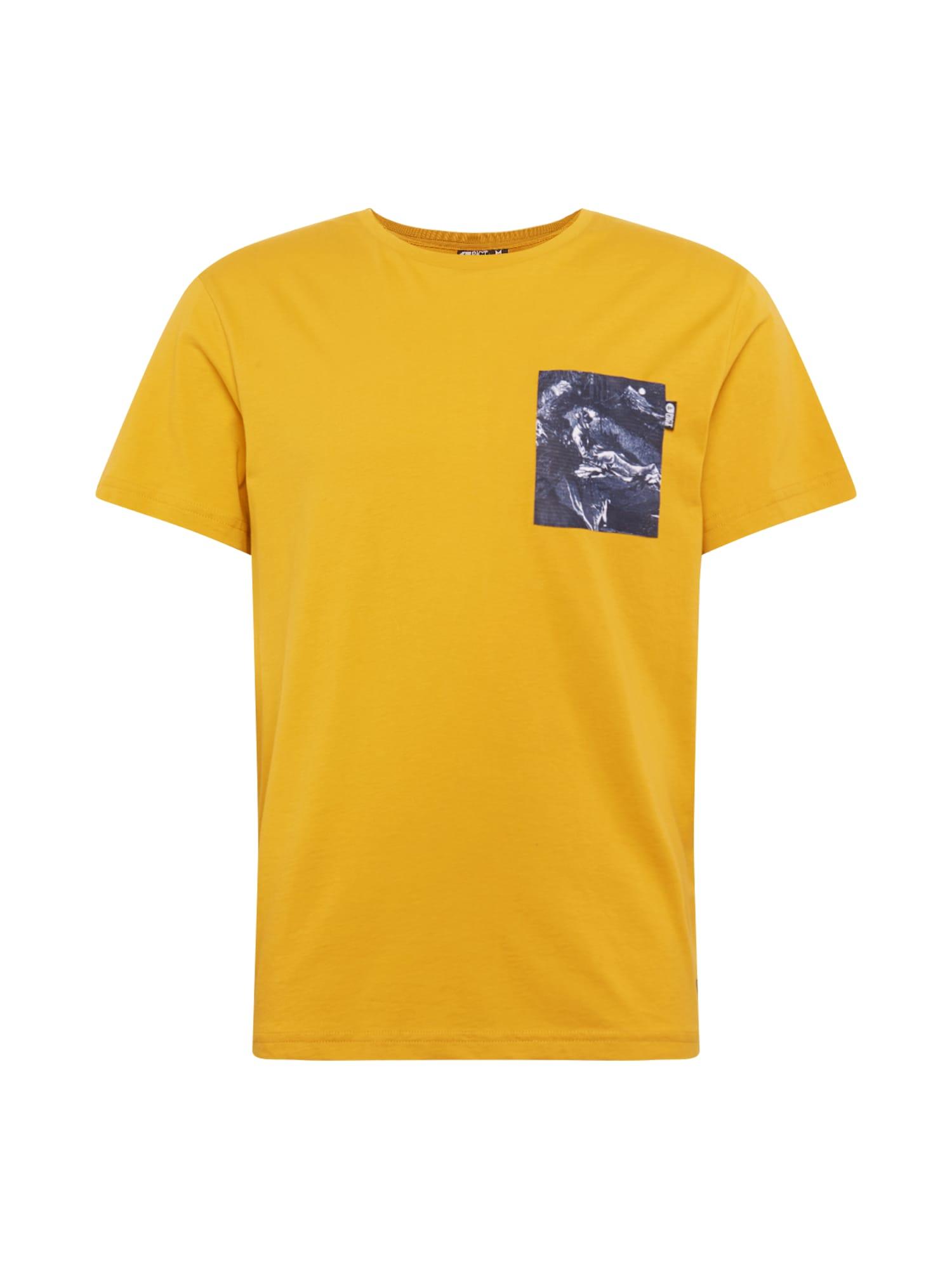 Picture Organic Clothing Funkční tričko 'UNION'  žlutá / mix barev