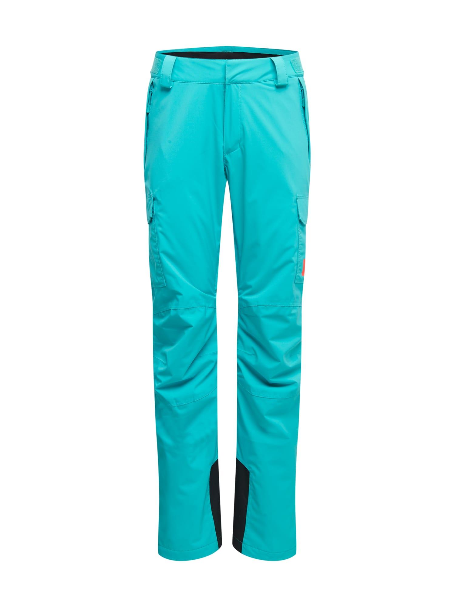 HELLY HANSEN Outdoorové kalhoty  tyrkysová