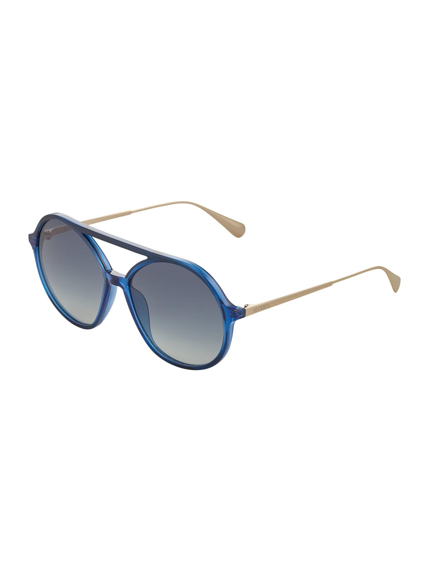 MAX&Co. Akiniai nuo saulės mėlyna / auksas