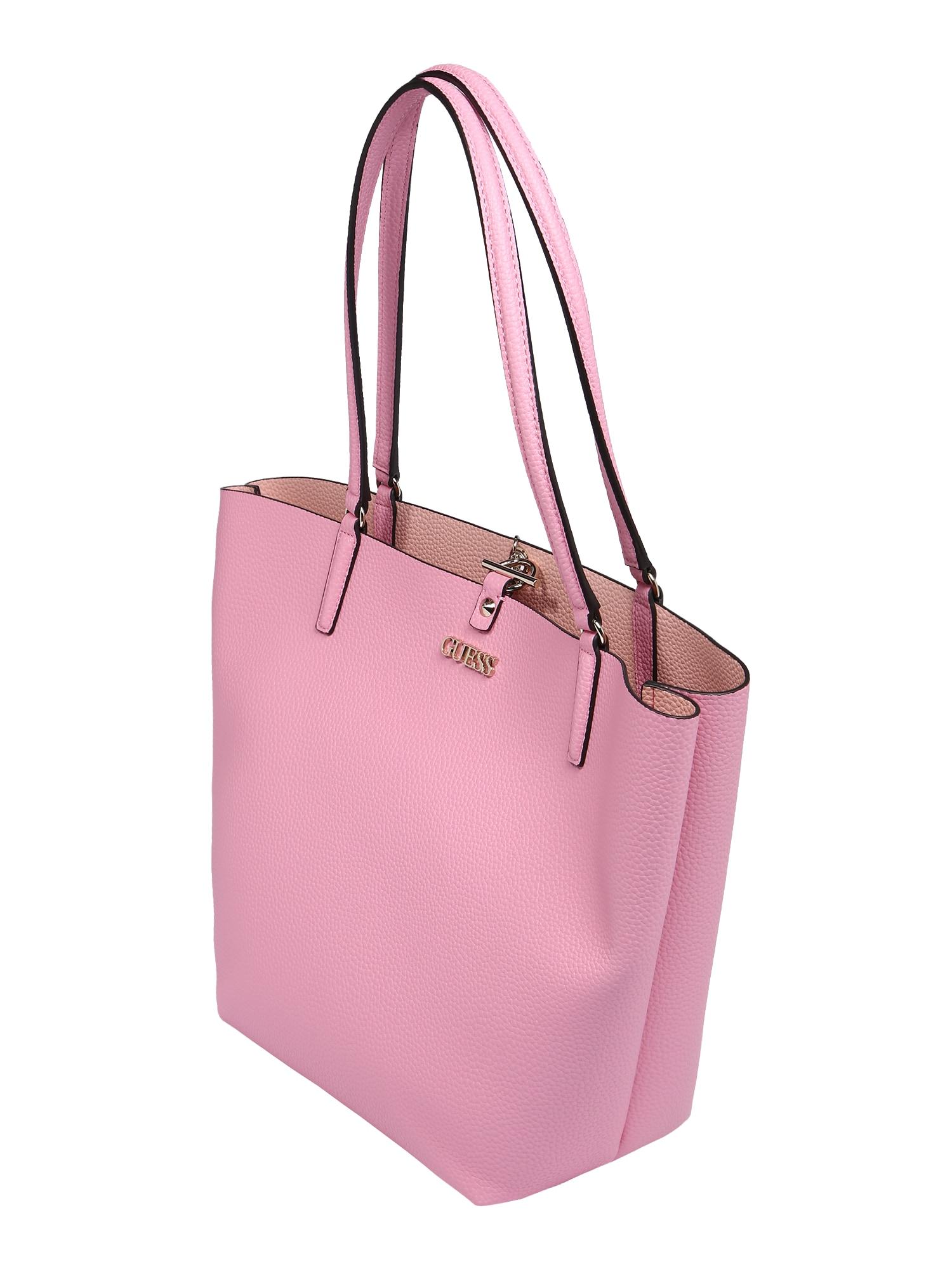 GUESS Nákupní taška 'ALBY'  světle růžová / pudrová