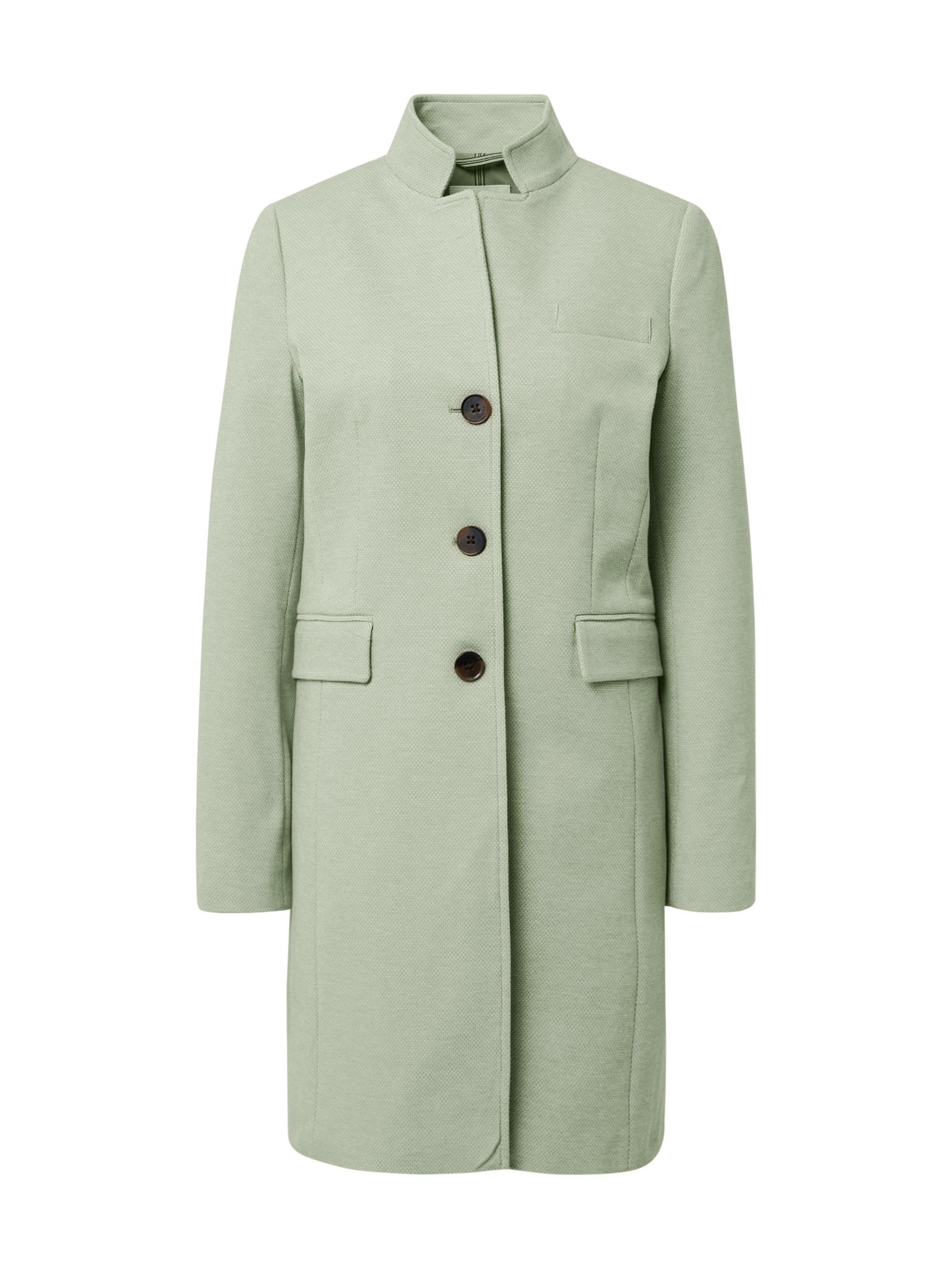 ESPRIT Demisezoninis paltas mėtų spalva