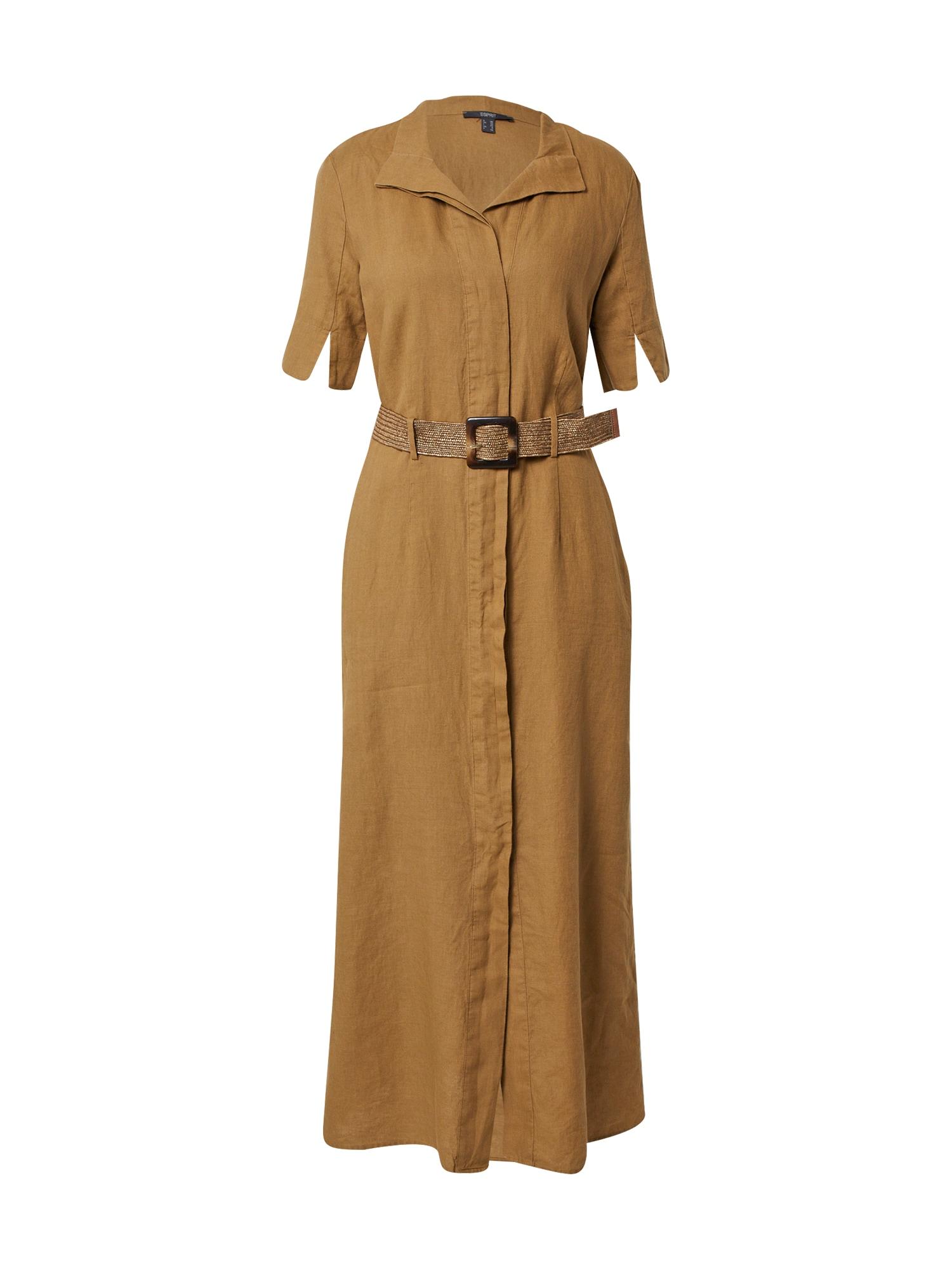 Esprit Collection Palaidinės tipo suknelė brokato spalva