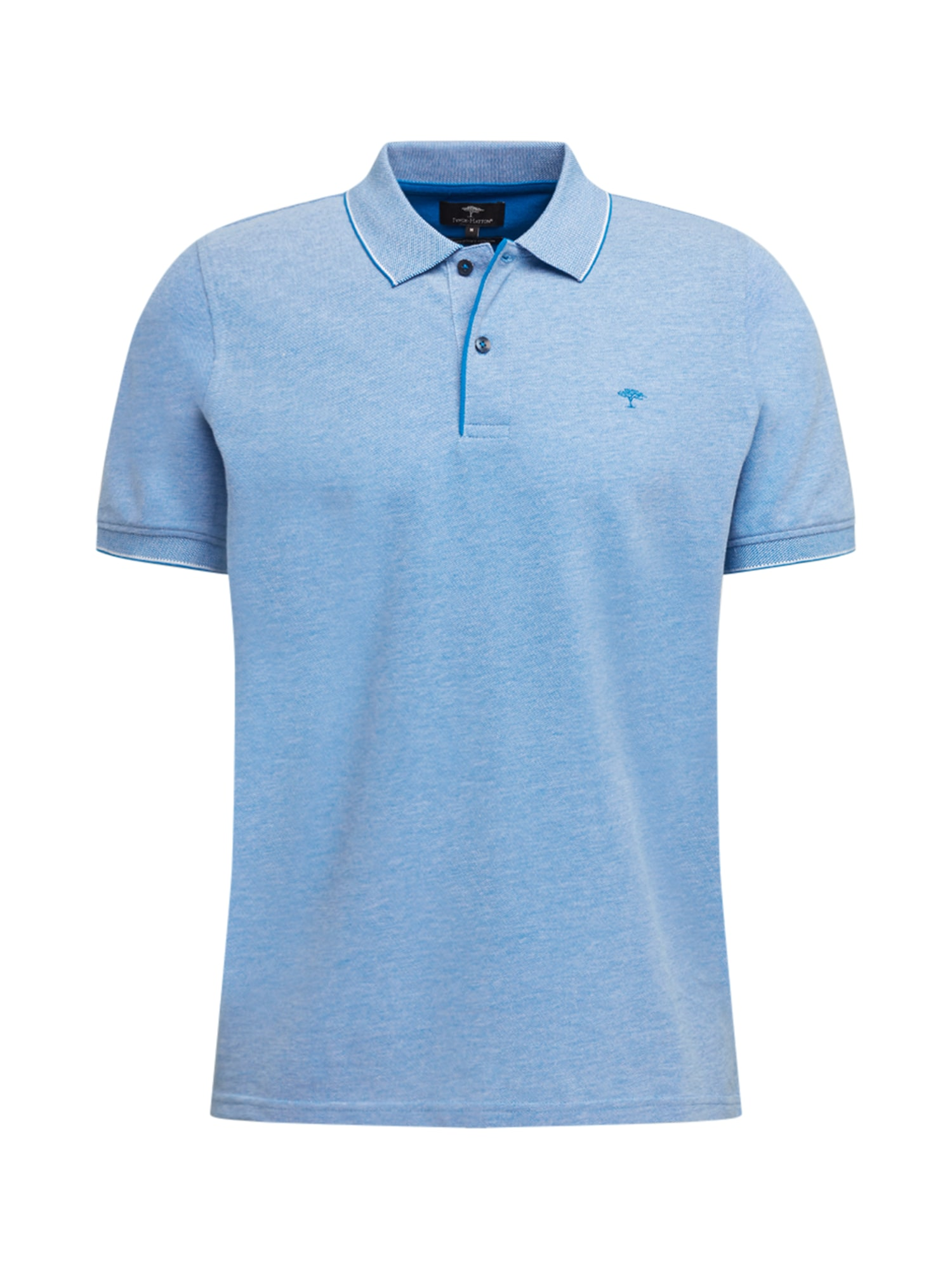 FYNCH-HATTON Marškinėliai margai mėlyna / dangaus žydra