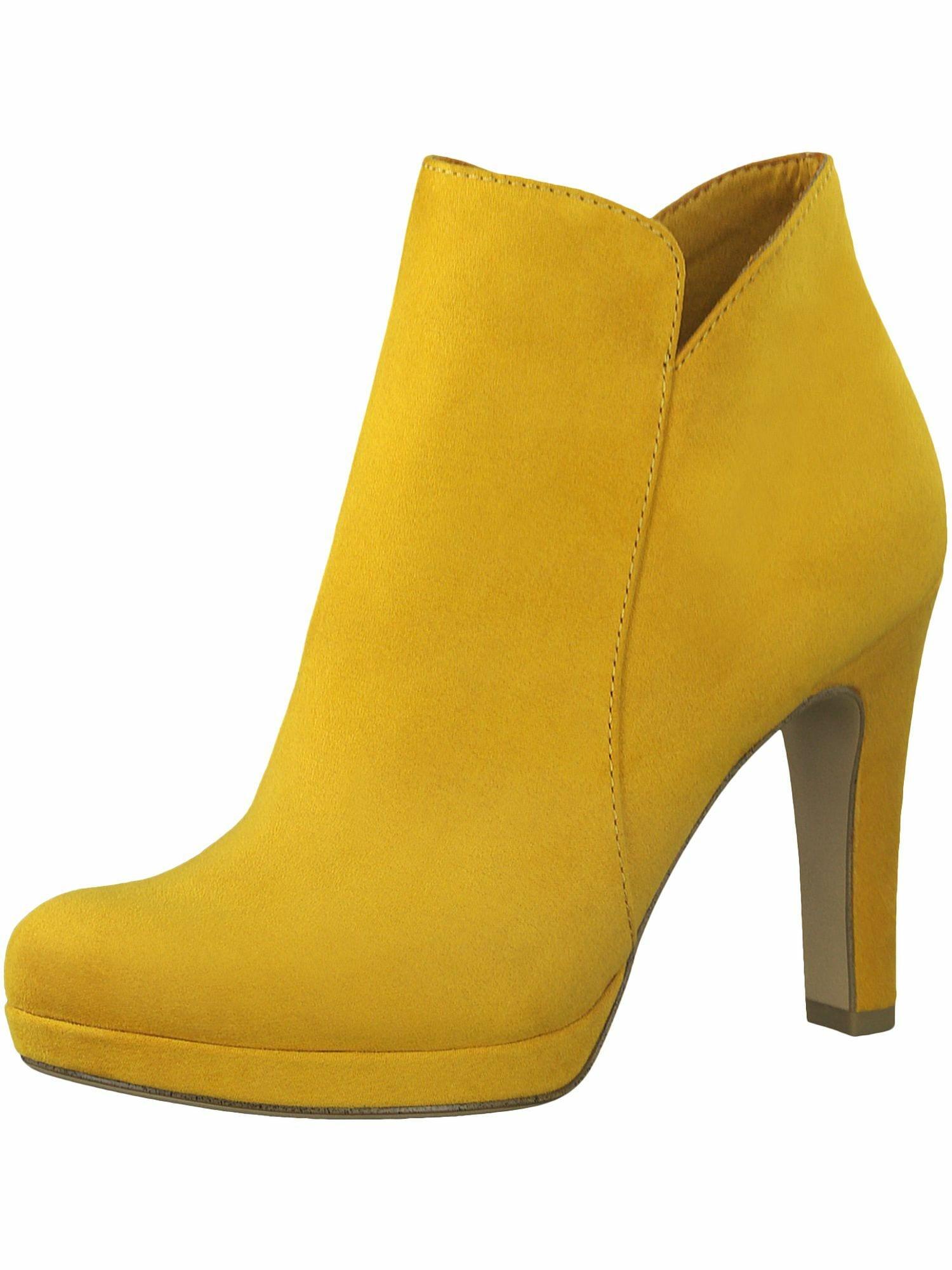 TAMARIS Kulkšnis dengiantys batai geltona