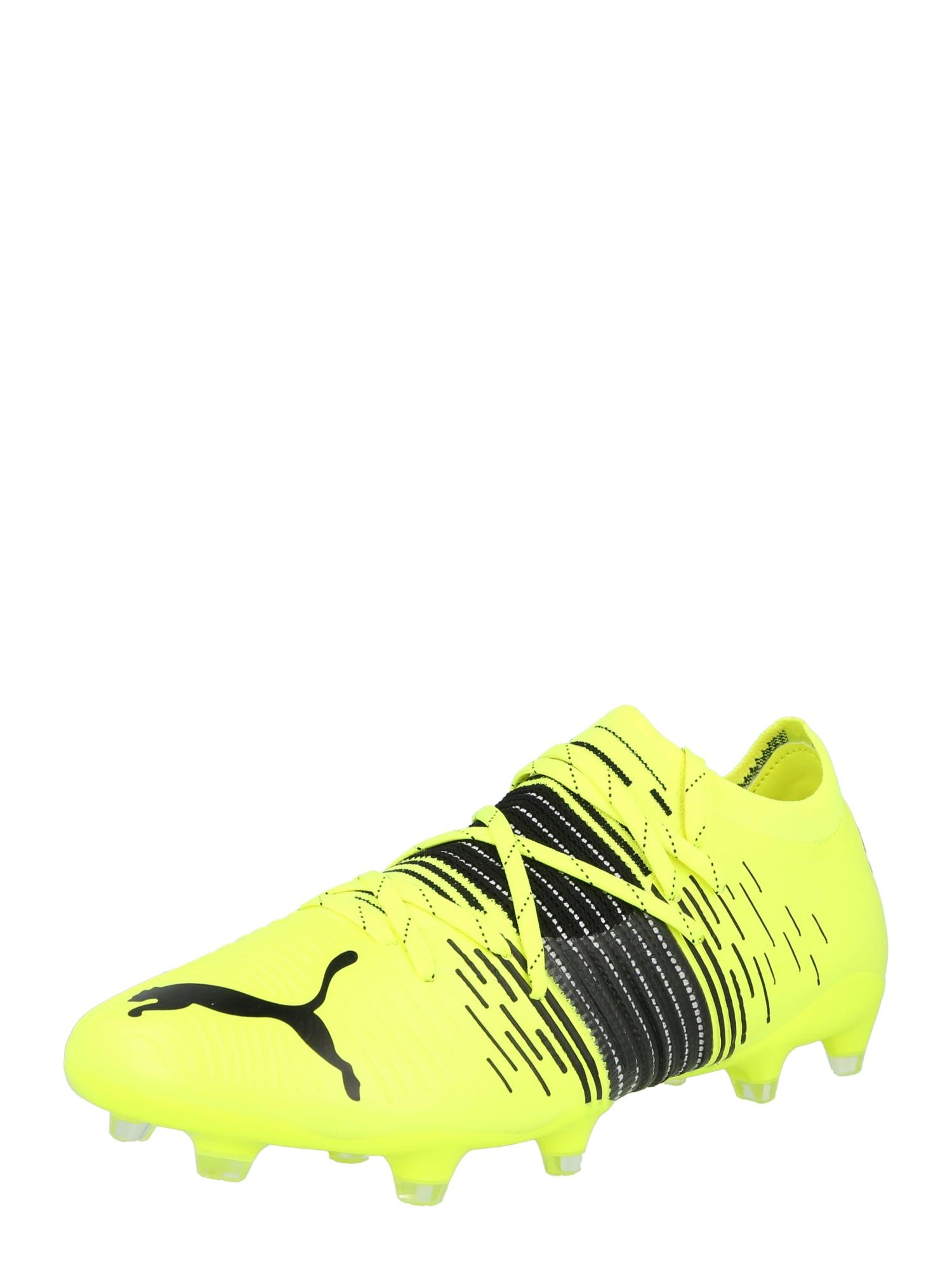 PUMA Sportiniai batai geltona / juoda