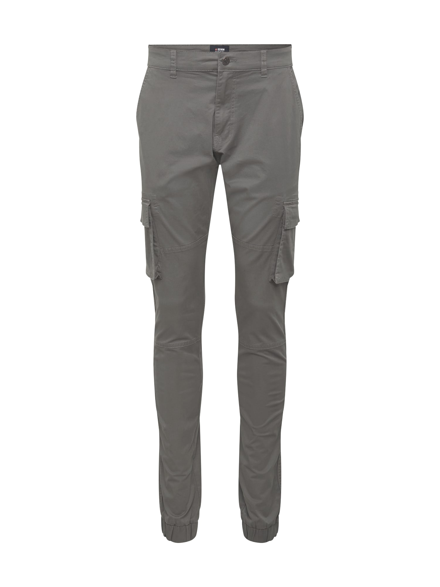 Denim Project Laisvo stiliaus kelnės pilka