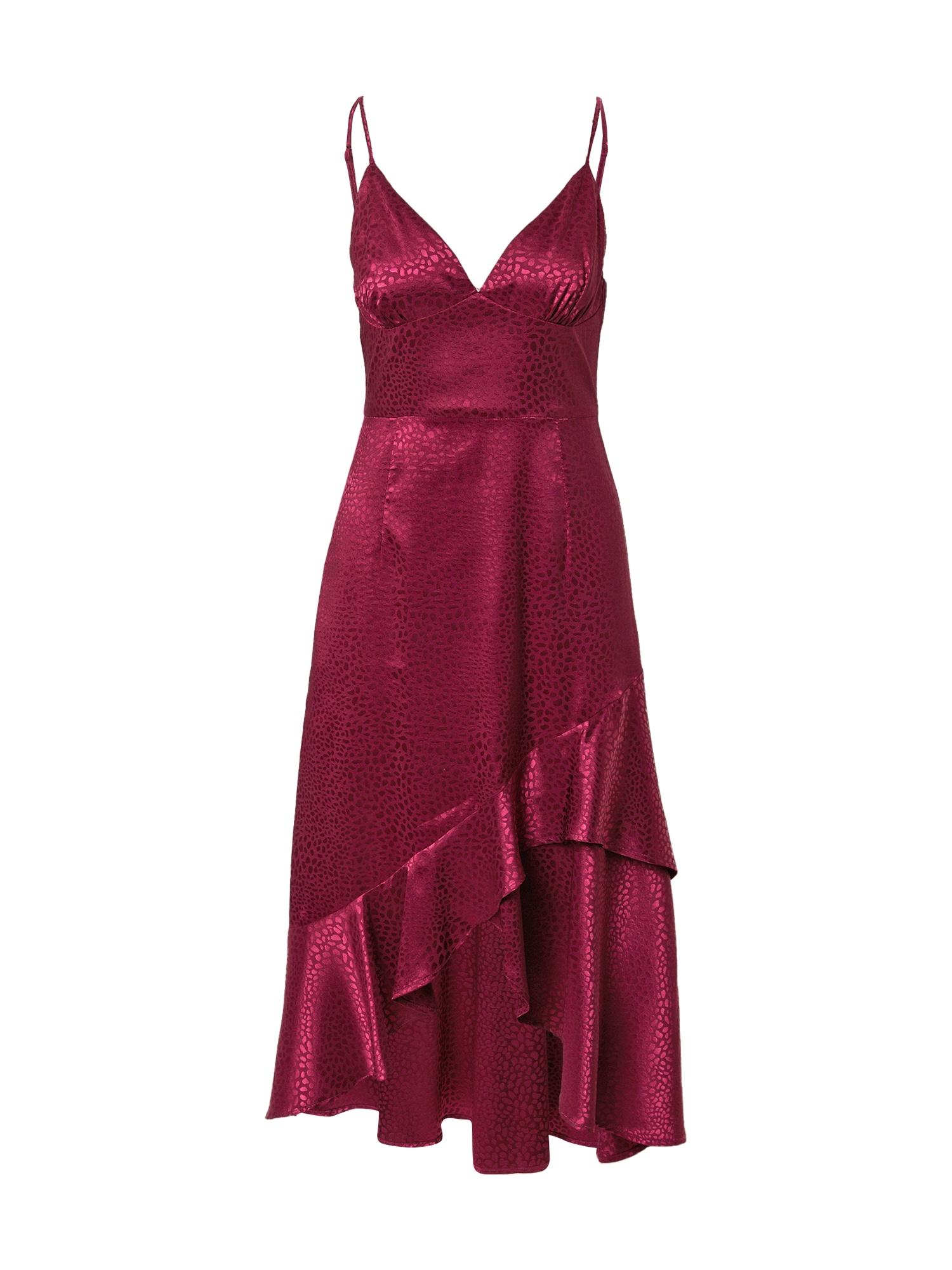 Forever Unique Suknelė tamsiai violetinė