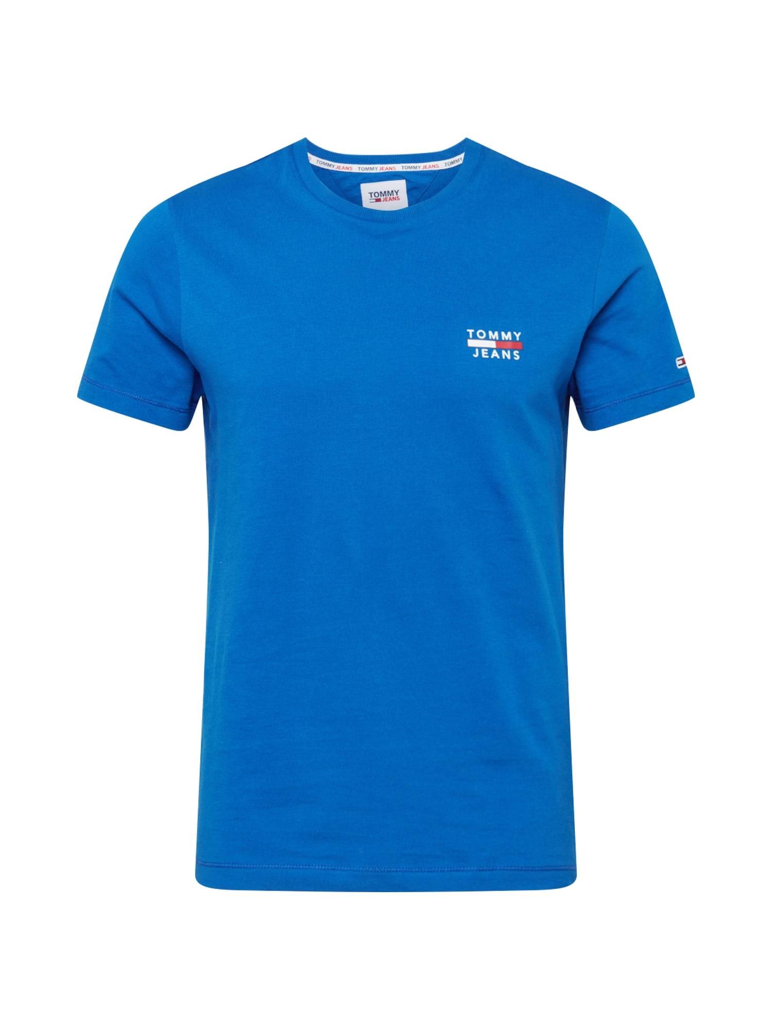 Tommy Jeans Tričko  královská modrá