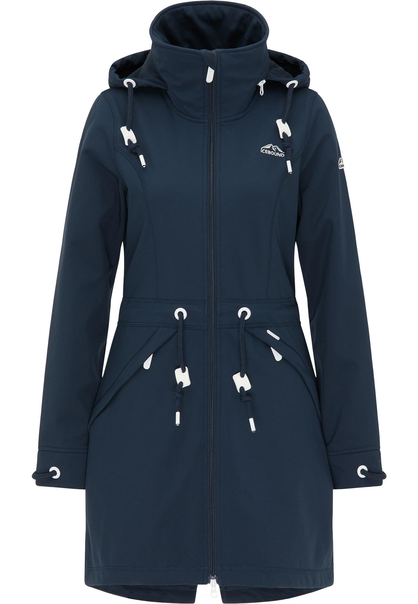 ICEBOUND Striukė-paltas tamsiai mėlyna