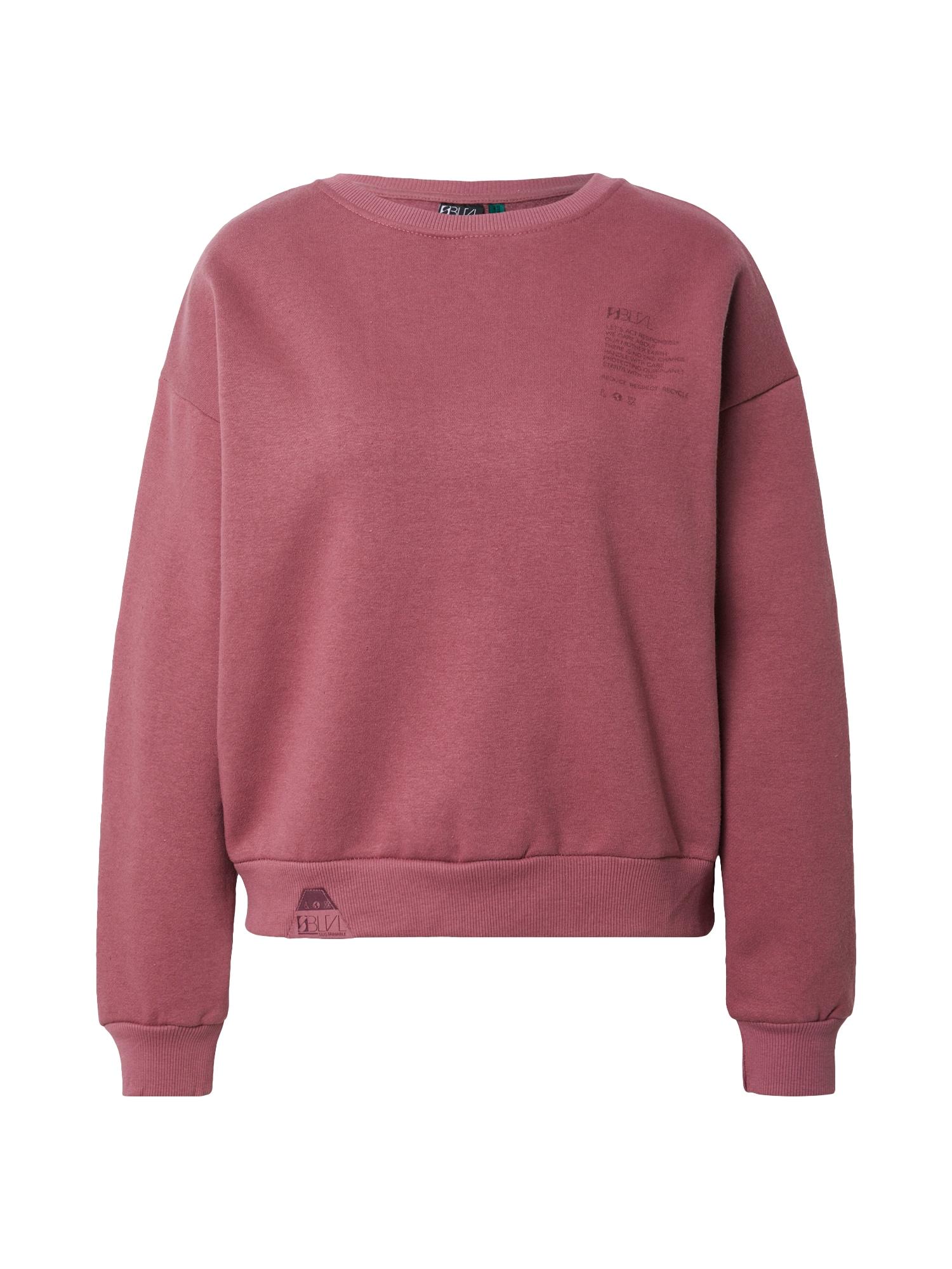 Sublevel Megztinis be užsegimo rožinė / pitajų spalva