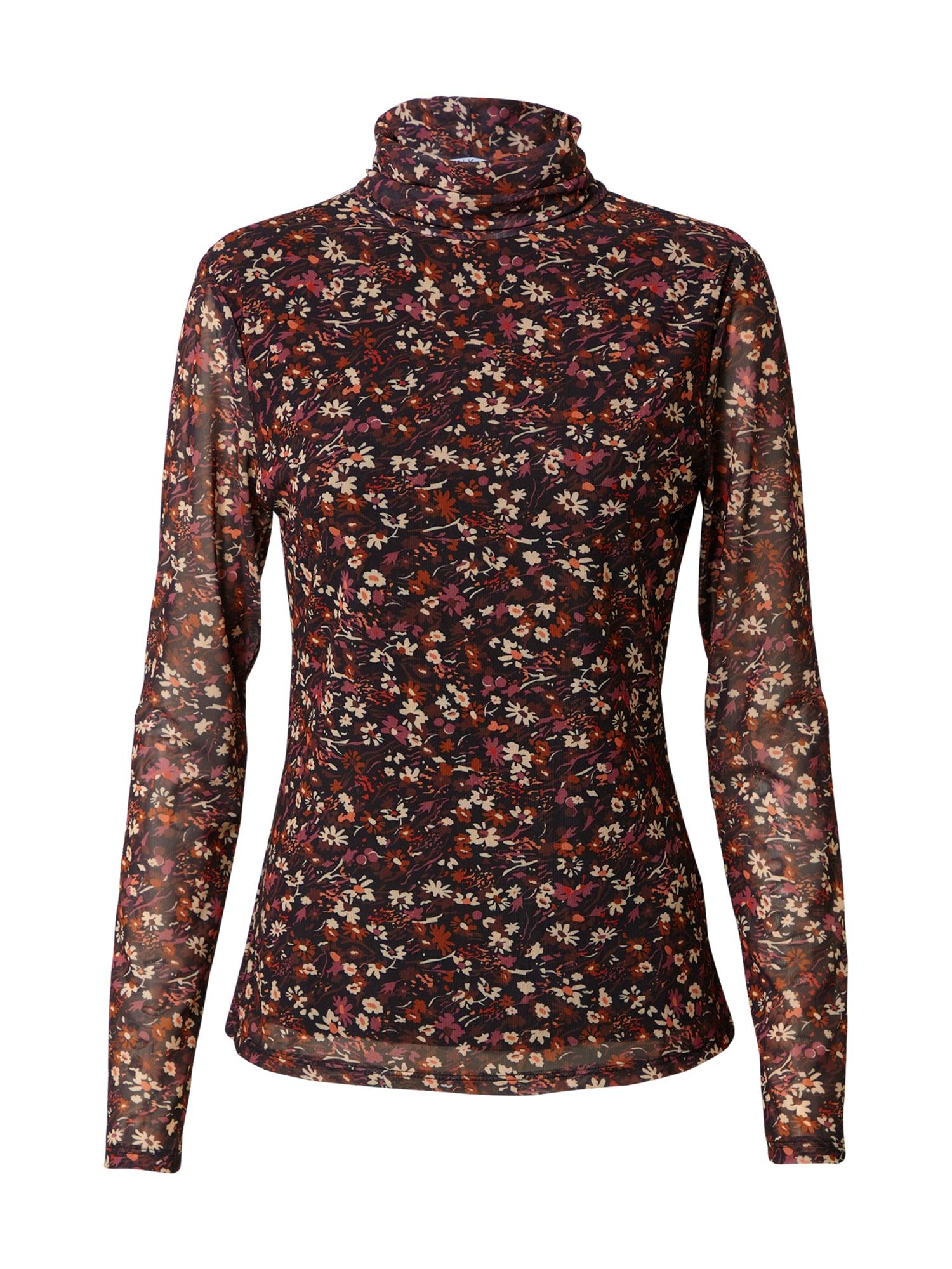 CATWALK JUNKIE Marškinėliai mišrios spalvos / juoda / vyšninė spalva