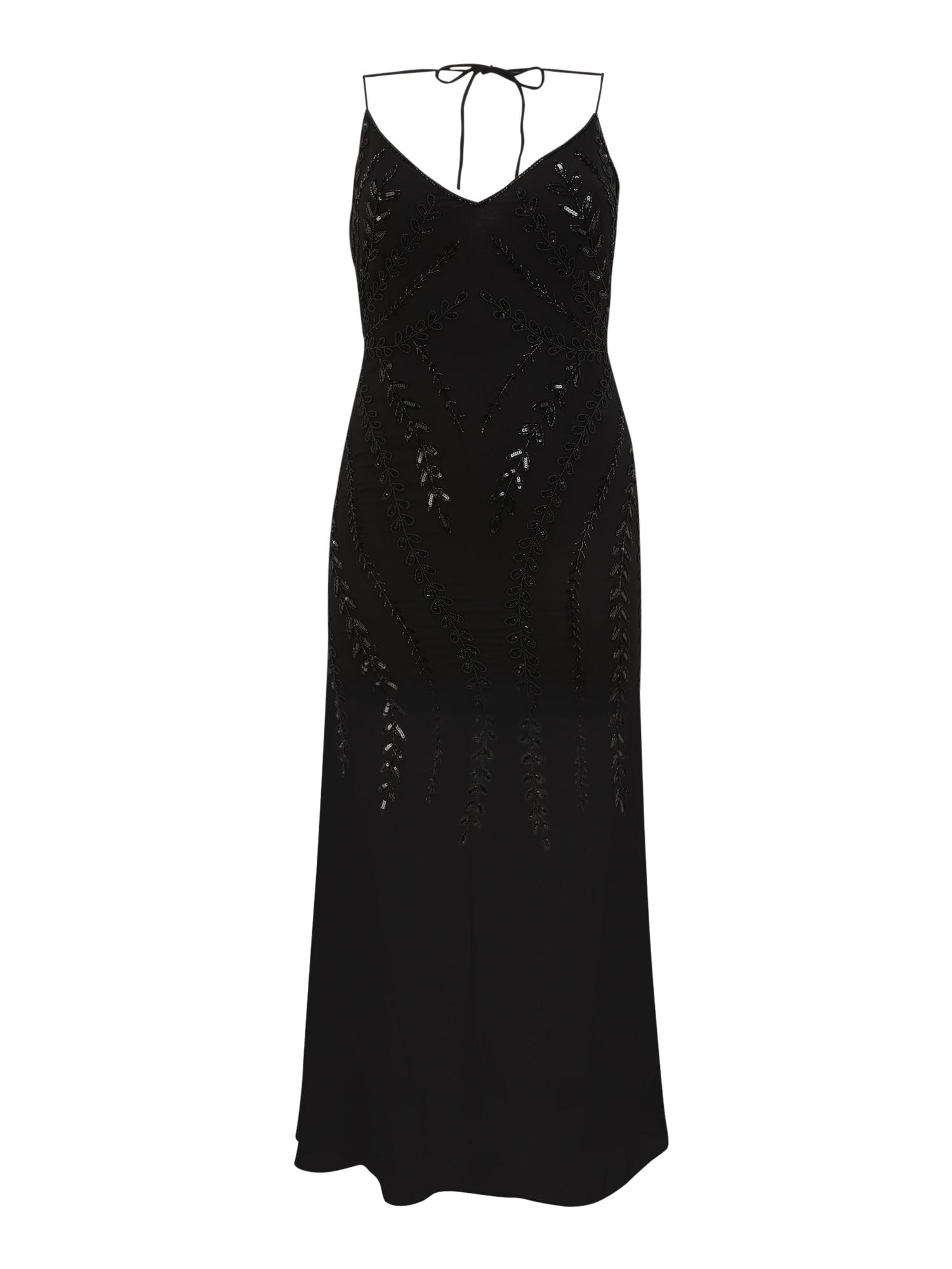Hailey Logan Vakarinė suknelė juoda