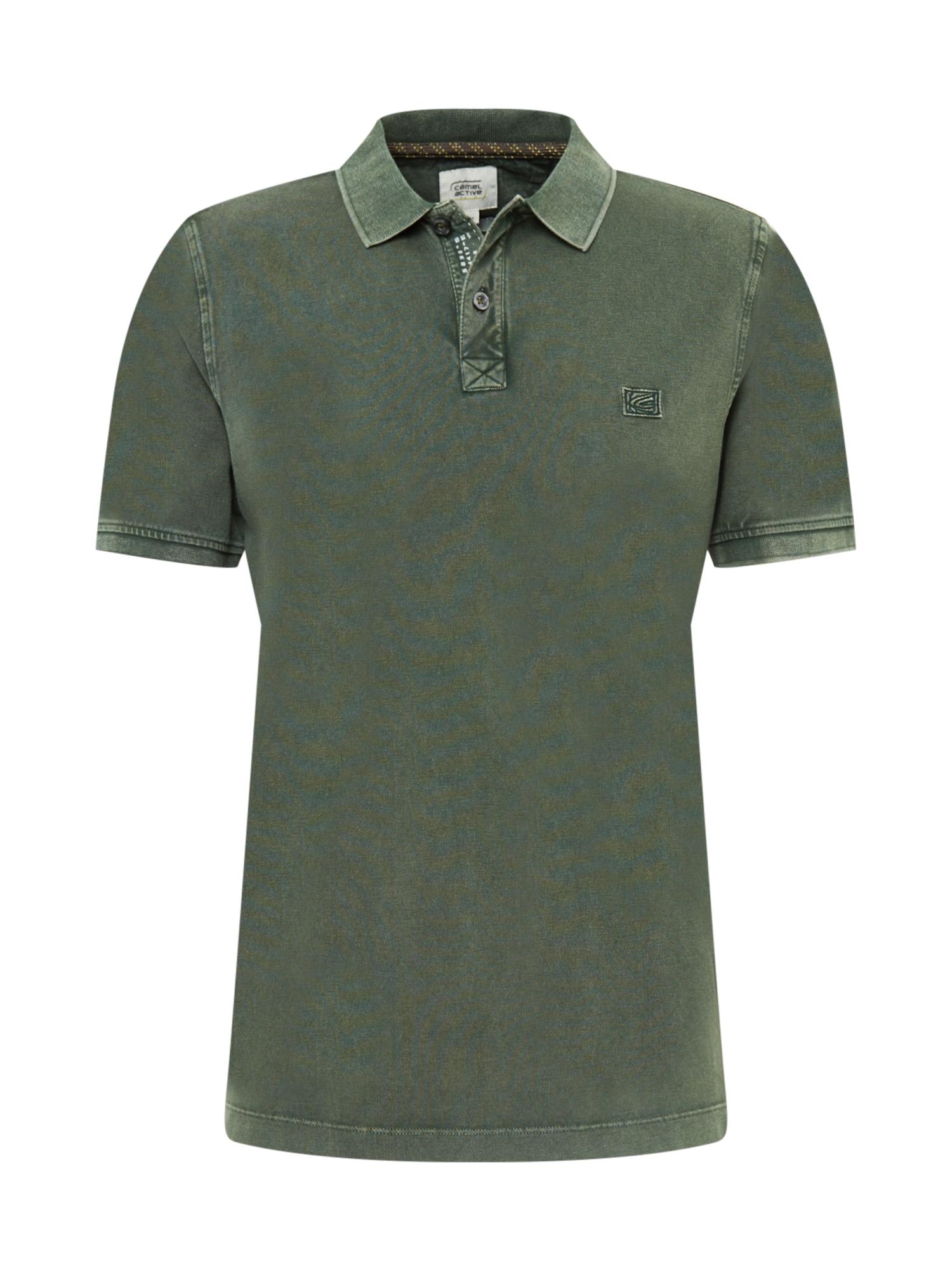CAMEL ACTIVE Marškinėliai alyvuogių spalva