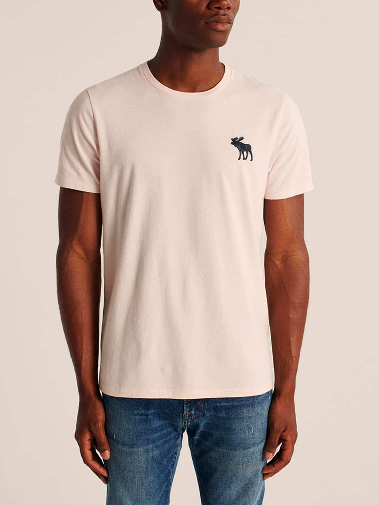 Abercrombie & Fitch T-shirt 'Fall Exploded'  rosa
