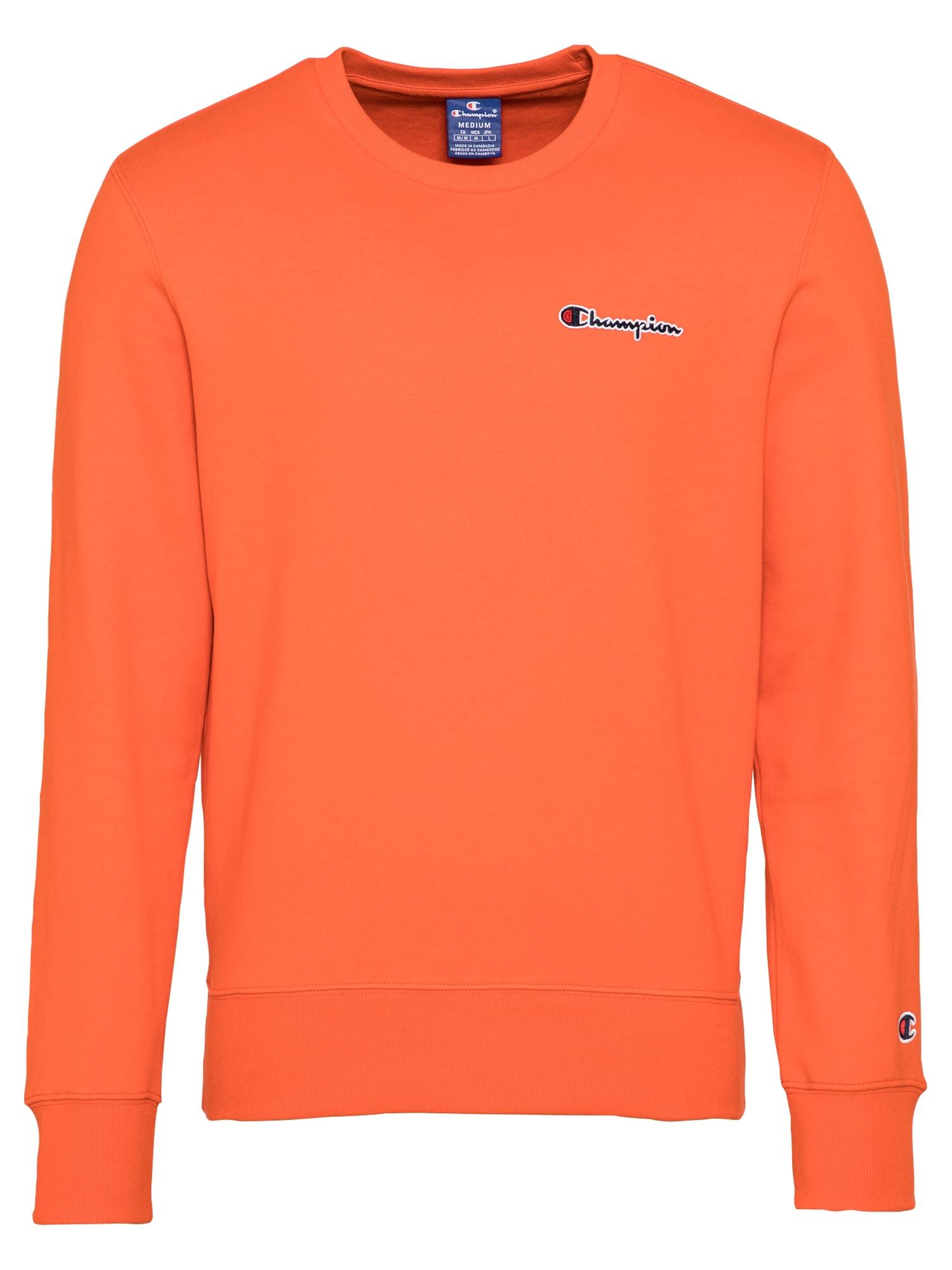 Champion Authentic Athletic Apparel Megztinis be užsegimo mandarinų spalva