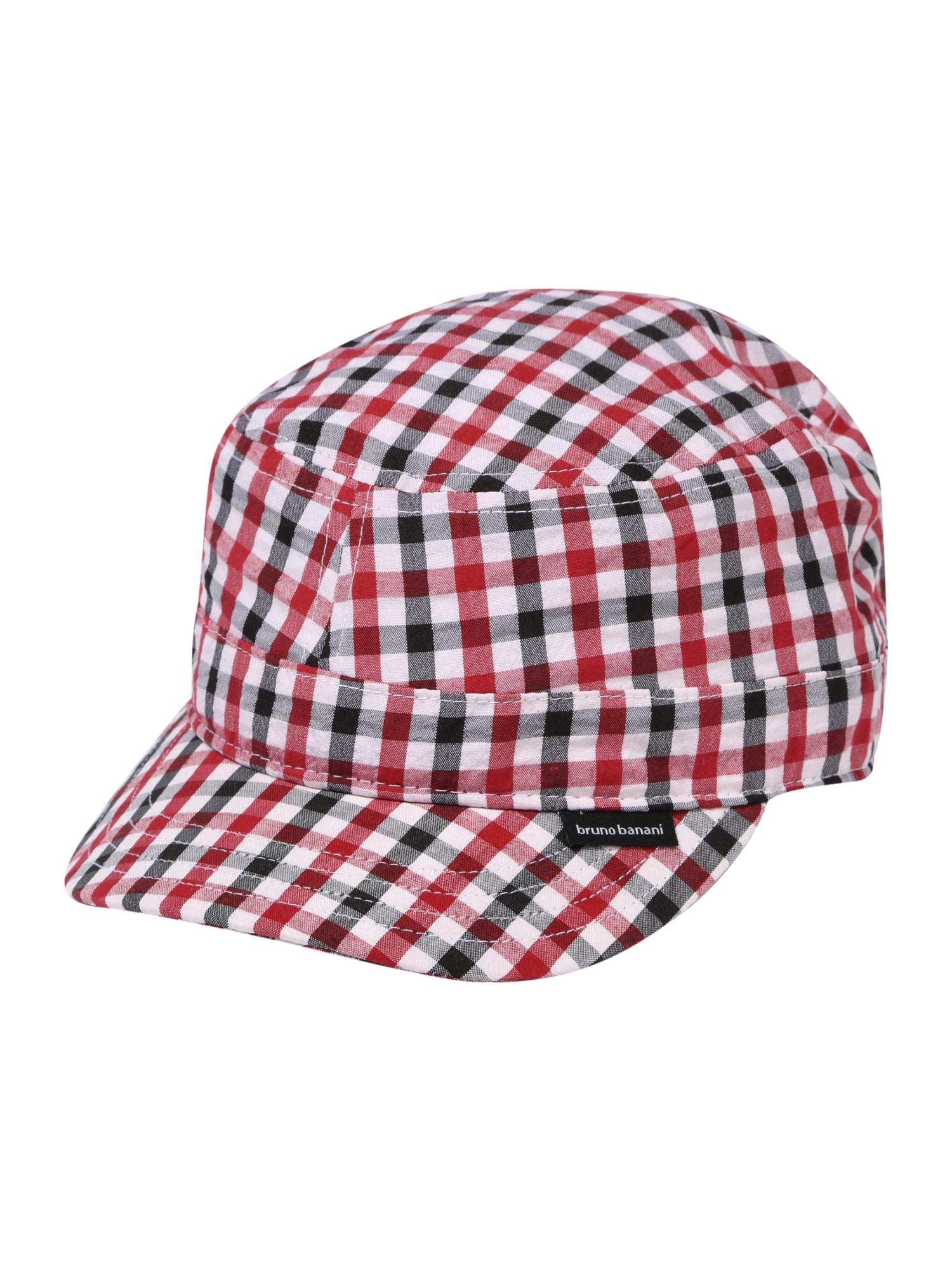 BRUNO BANANI Kepurė balta / raudona / juoda